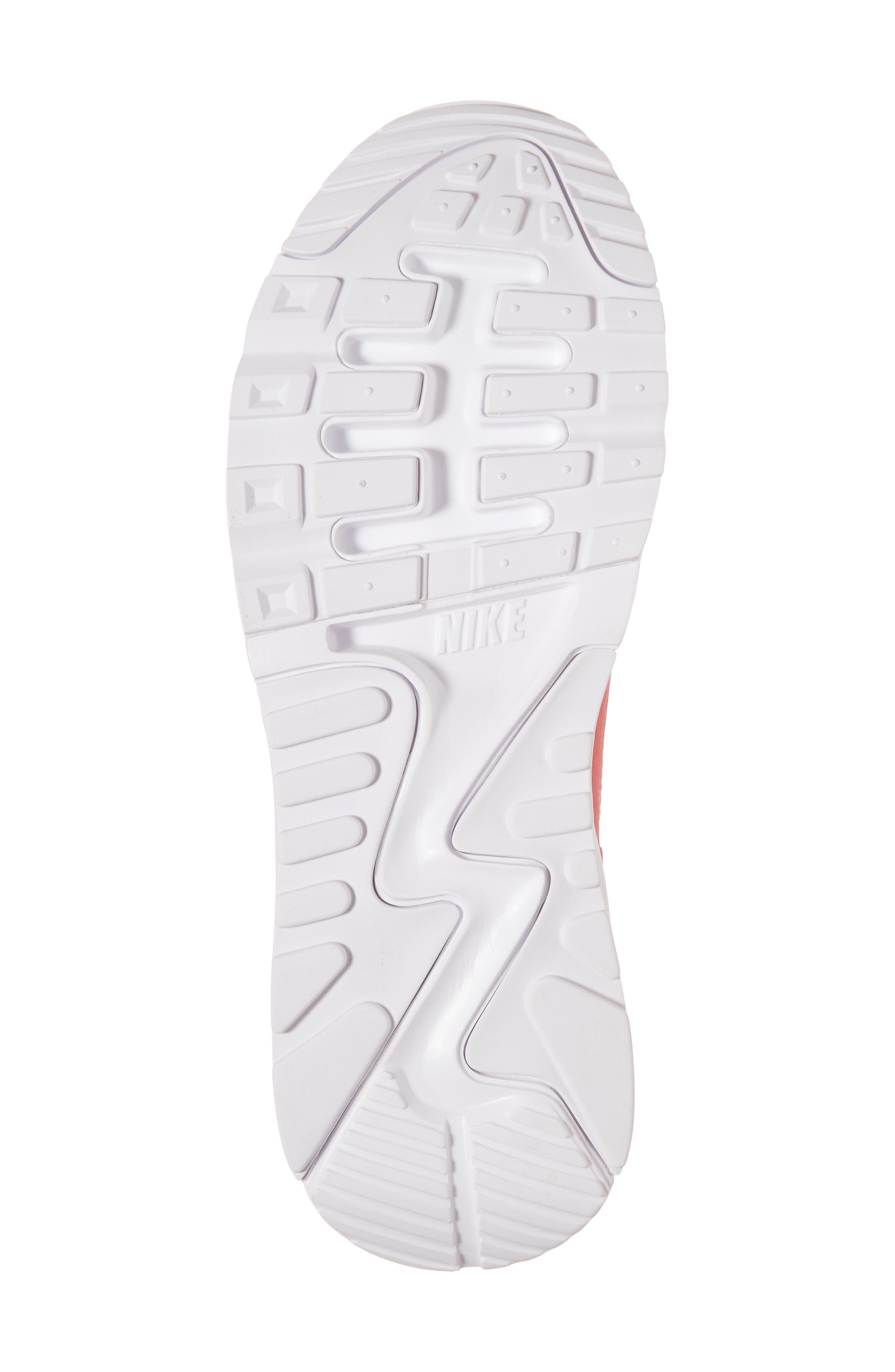 Air Max 90 Flyknit Ultra 2.0 Sneaker,                             Alternate thumbnail 6, color,                             Geranium/ Geranium