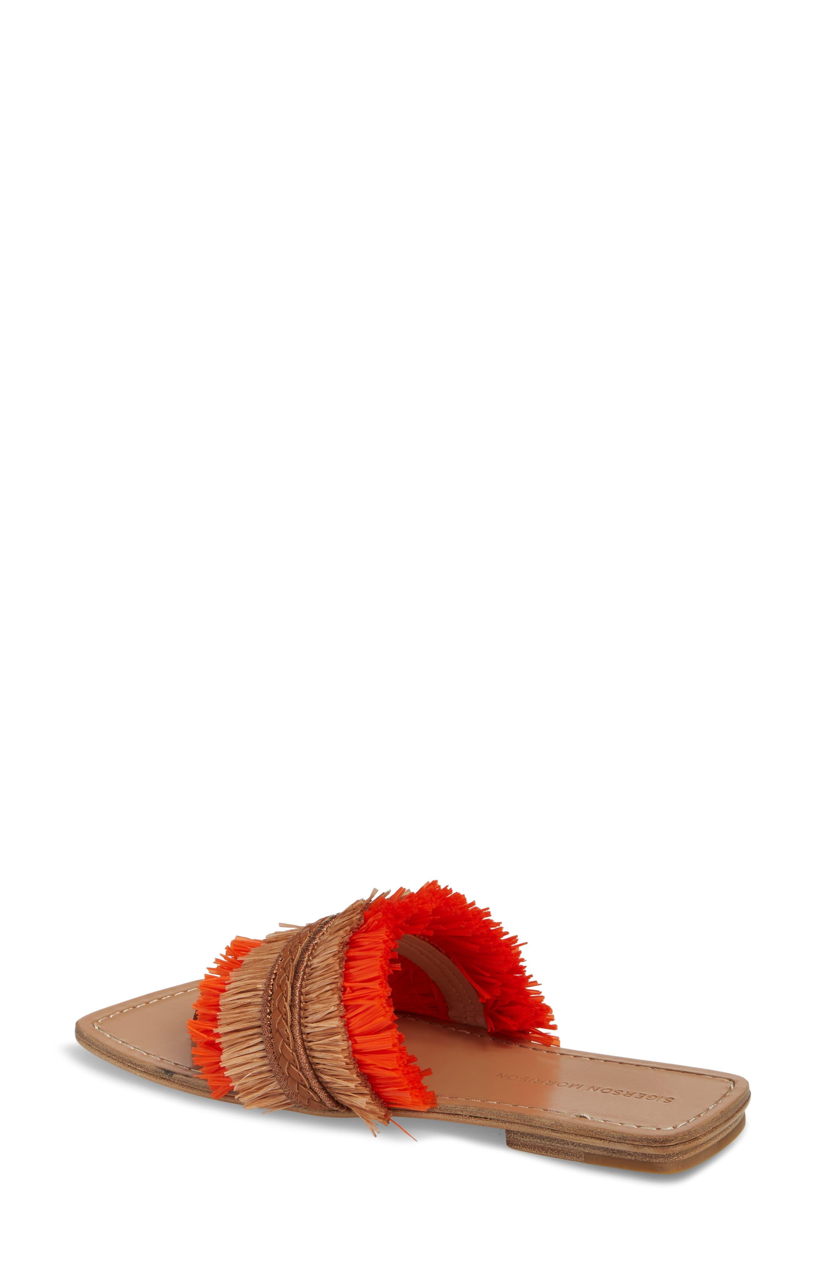 Woven Sandal,                             Alternate thumbnail 2, color,                             Tan/ Orange
