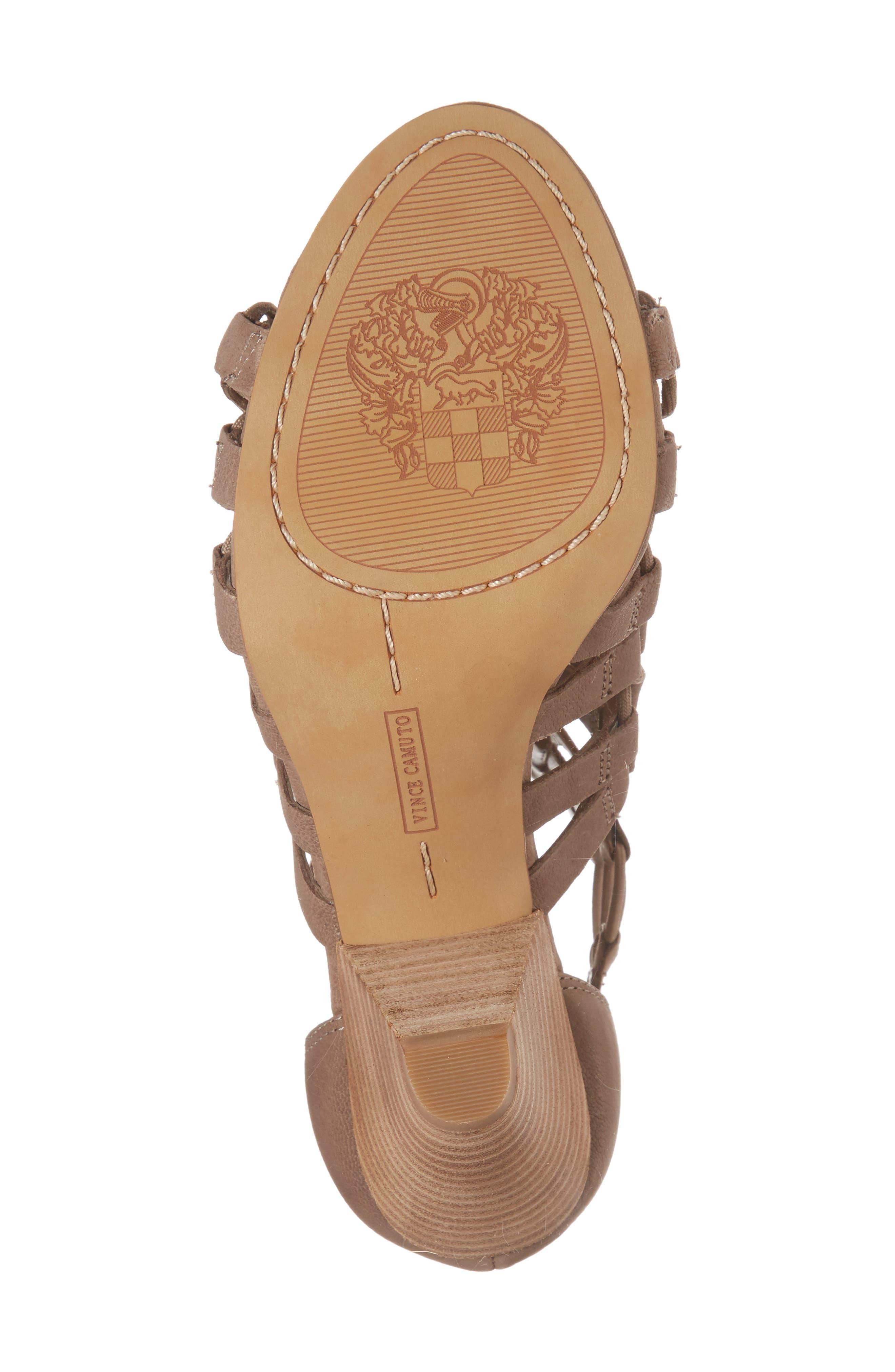 Elanso Sandal,                             Alternate thumbnail 6, color,                             Urban Lux Leather