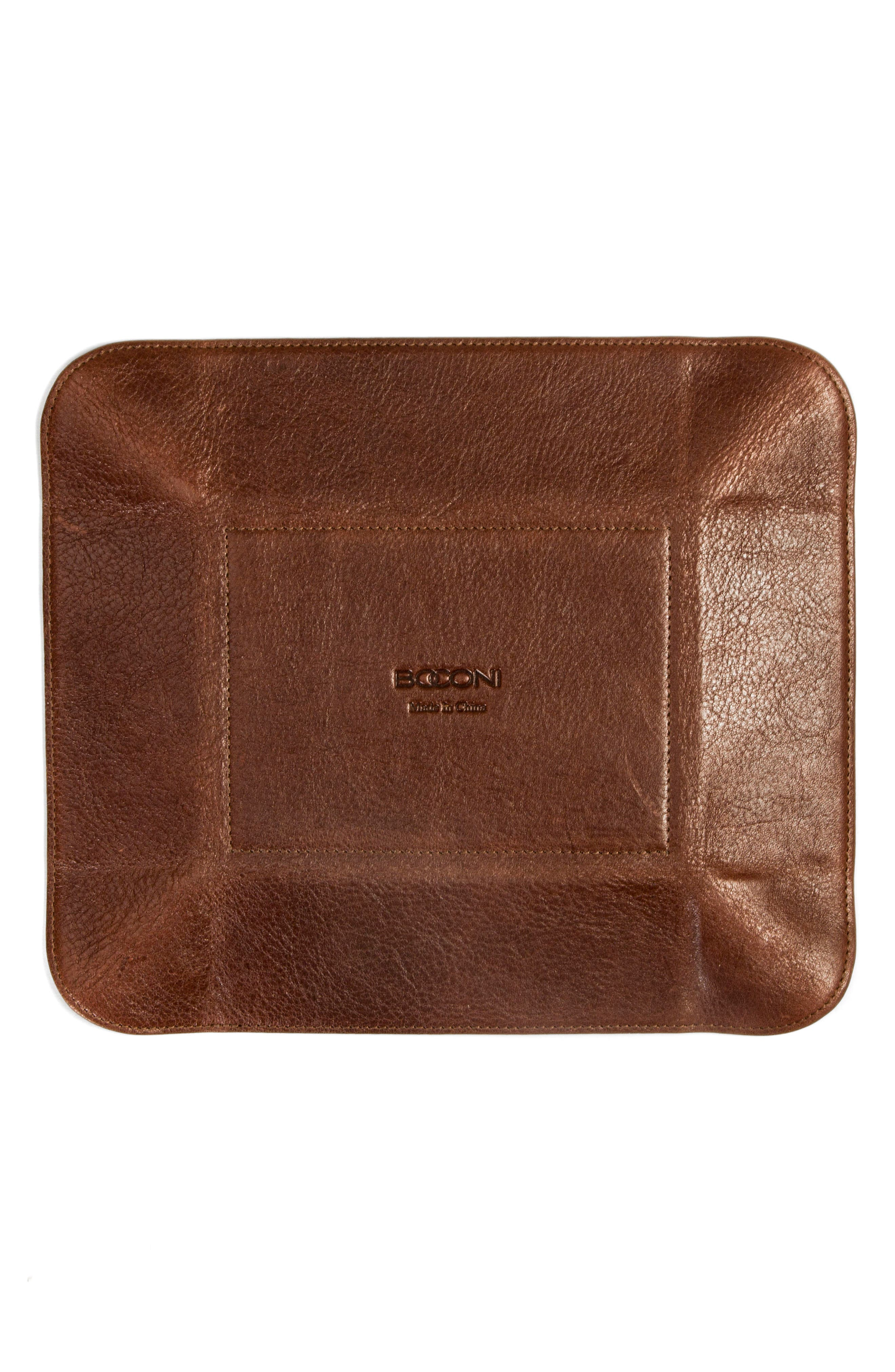 Becker Catchall Tray,                             Alternate thumbnail 4, color,                             Whiskey