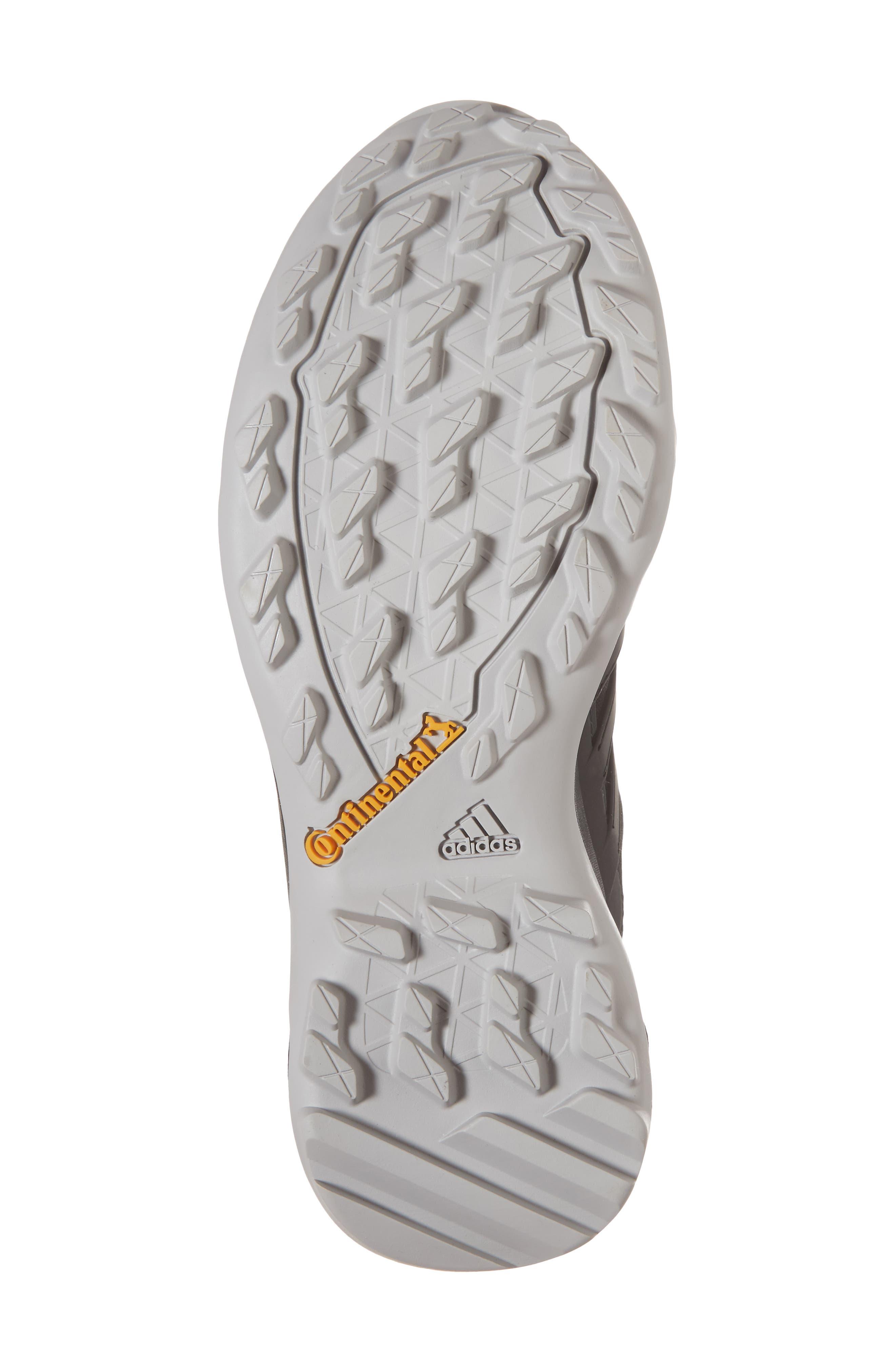 Terrex Swift R2 Gore-Tex<sup>®</sup> Hiking Shoe,                             Alternate thumbnail 6, color,                             Black/ Black/ Ash Green