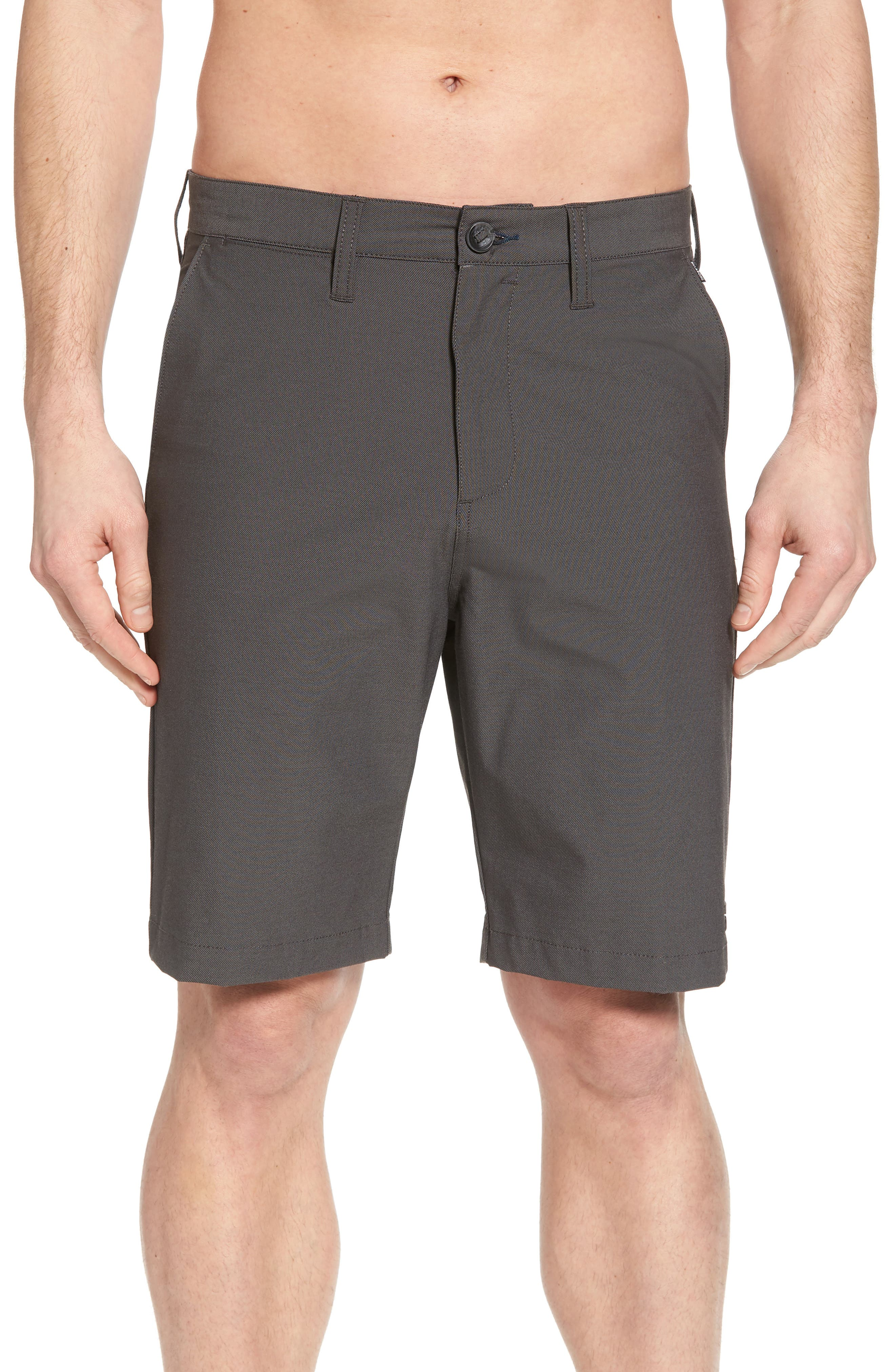 Crossfire X Submersible Twill Shorts,                             Alternate thumbnail 4, color,                             Black