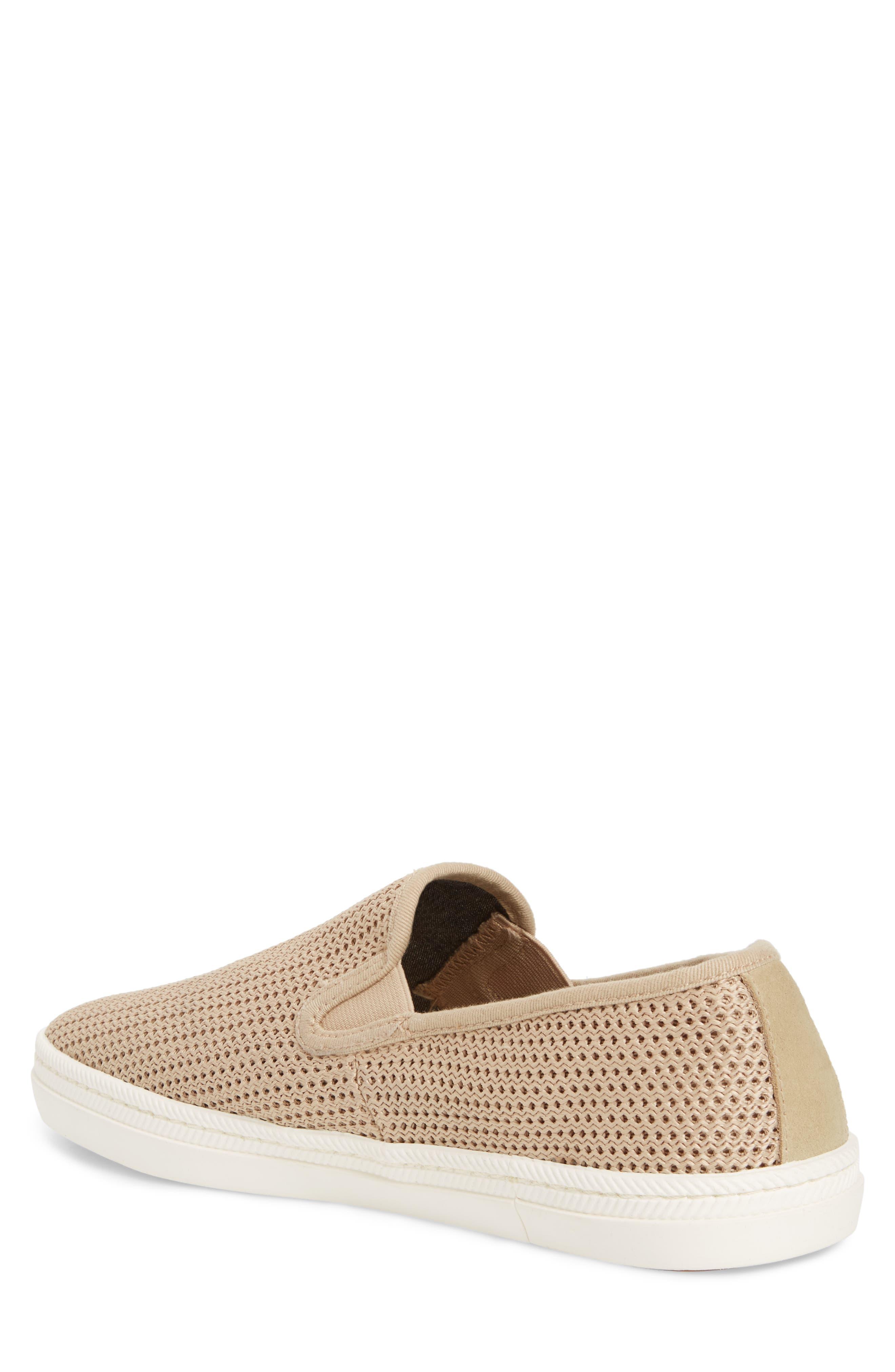 Viktor Woven Slip-On Sneaker,                             Alternate thumbnail 2, color,                             Dry Sand