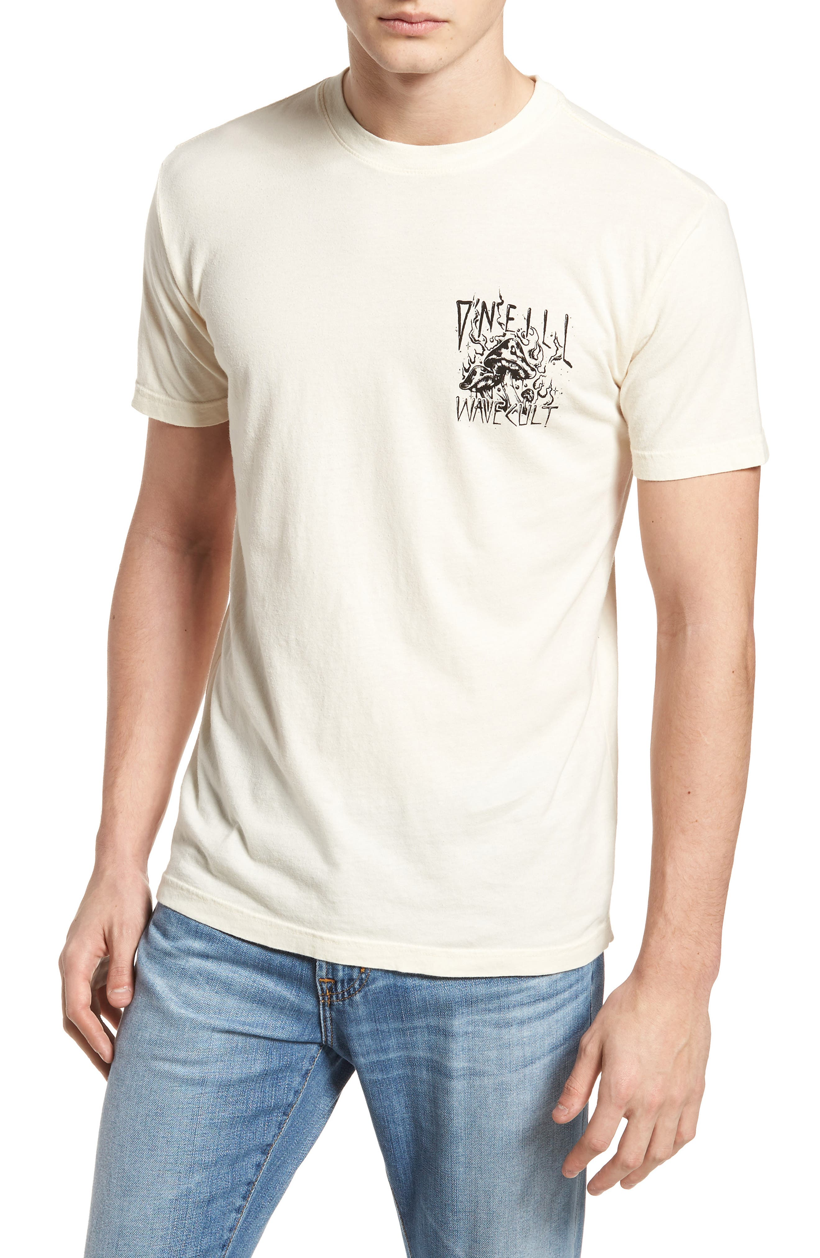 Doom Graphic T-Shirt,                             Main thumbnail 1, color,                             Bone
