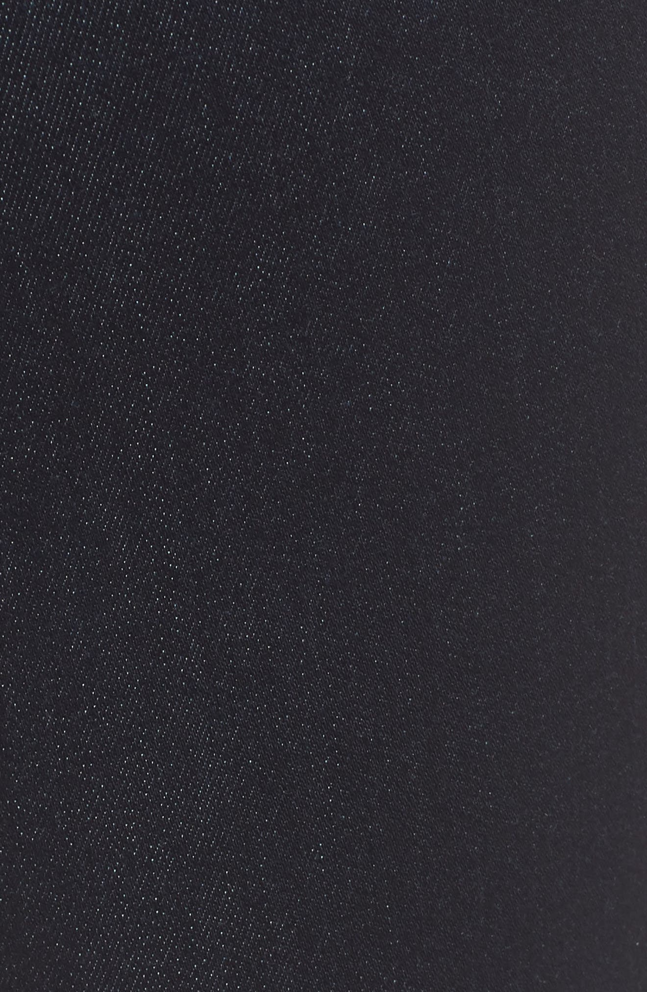 Kendra Supersoft Straight Leg Jeans,                             Alternate thumbnail 6, color,                             Rinse Super Soft