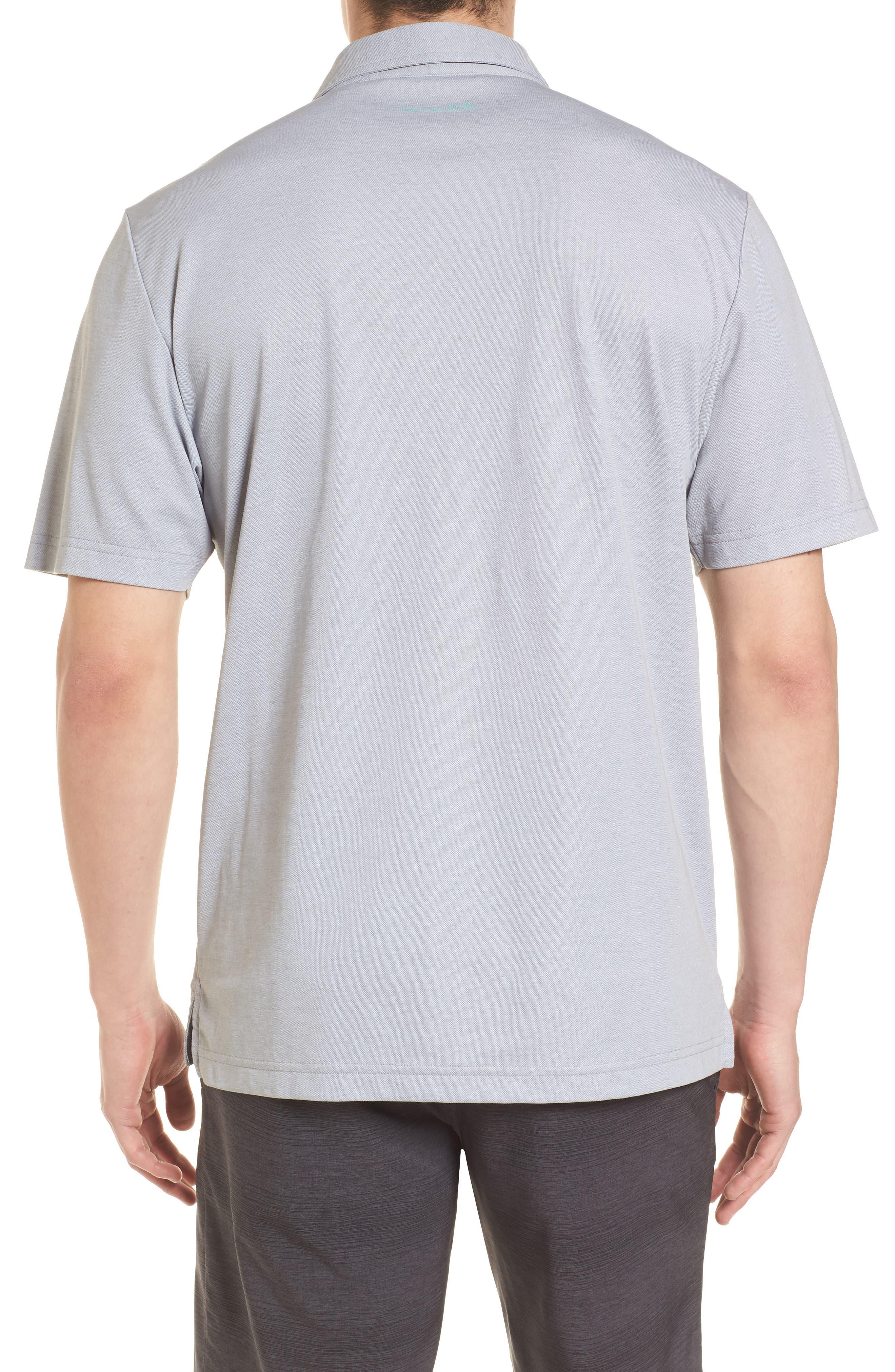 Good Good Polo Shirt,                             Alternate thumbnail 2, color,                             Heather Grey Monument