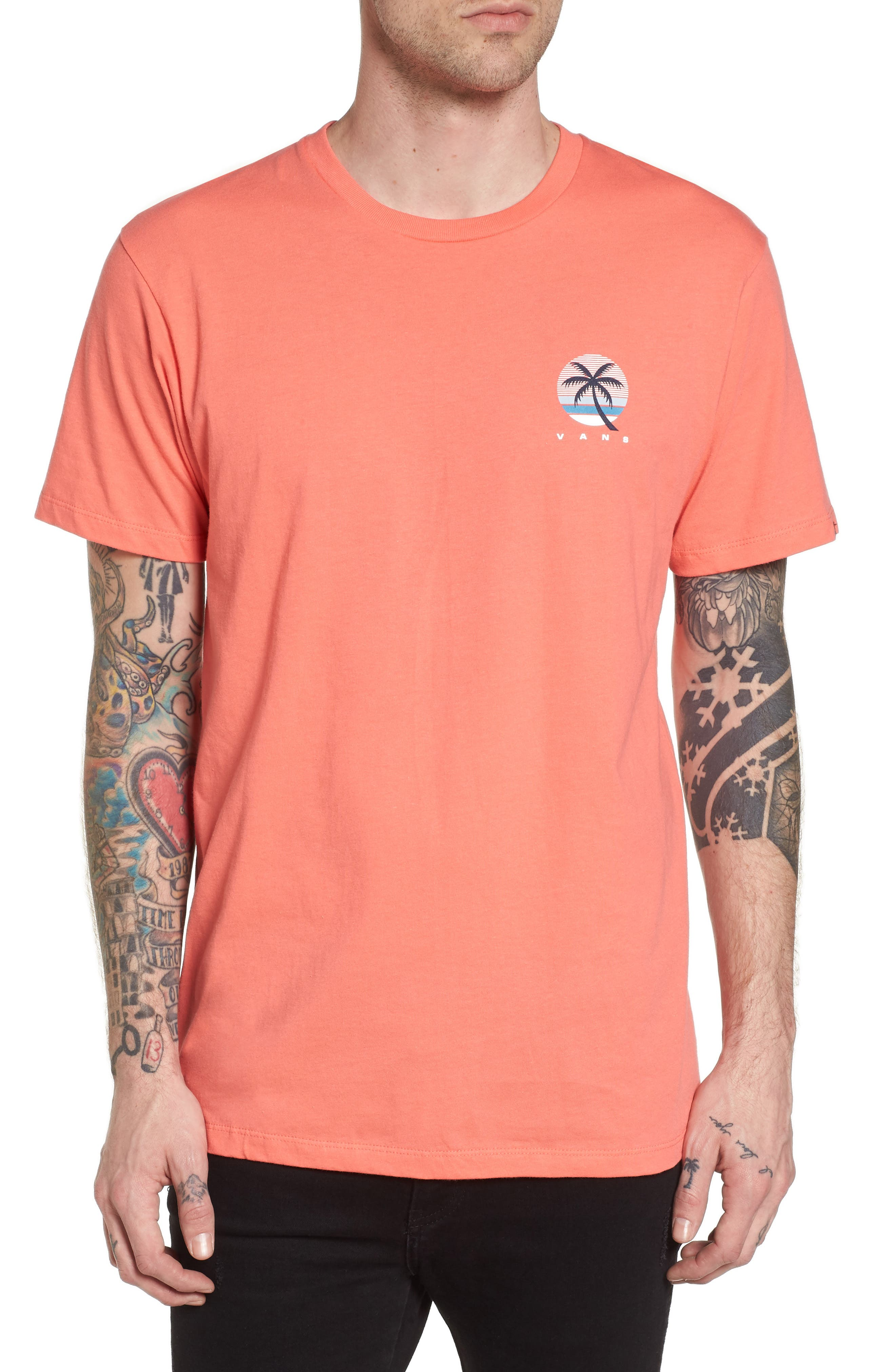 Tall Palms Graphic T-Shirt,                         Main,                         color, Dubarry