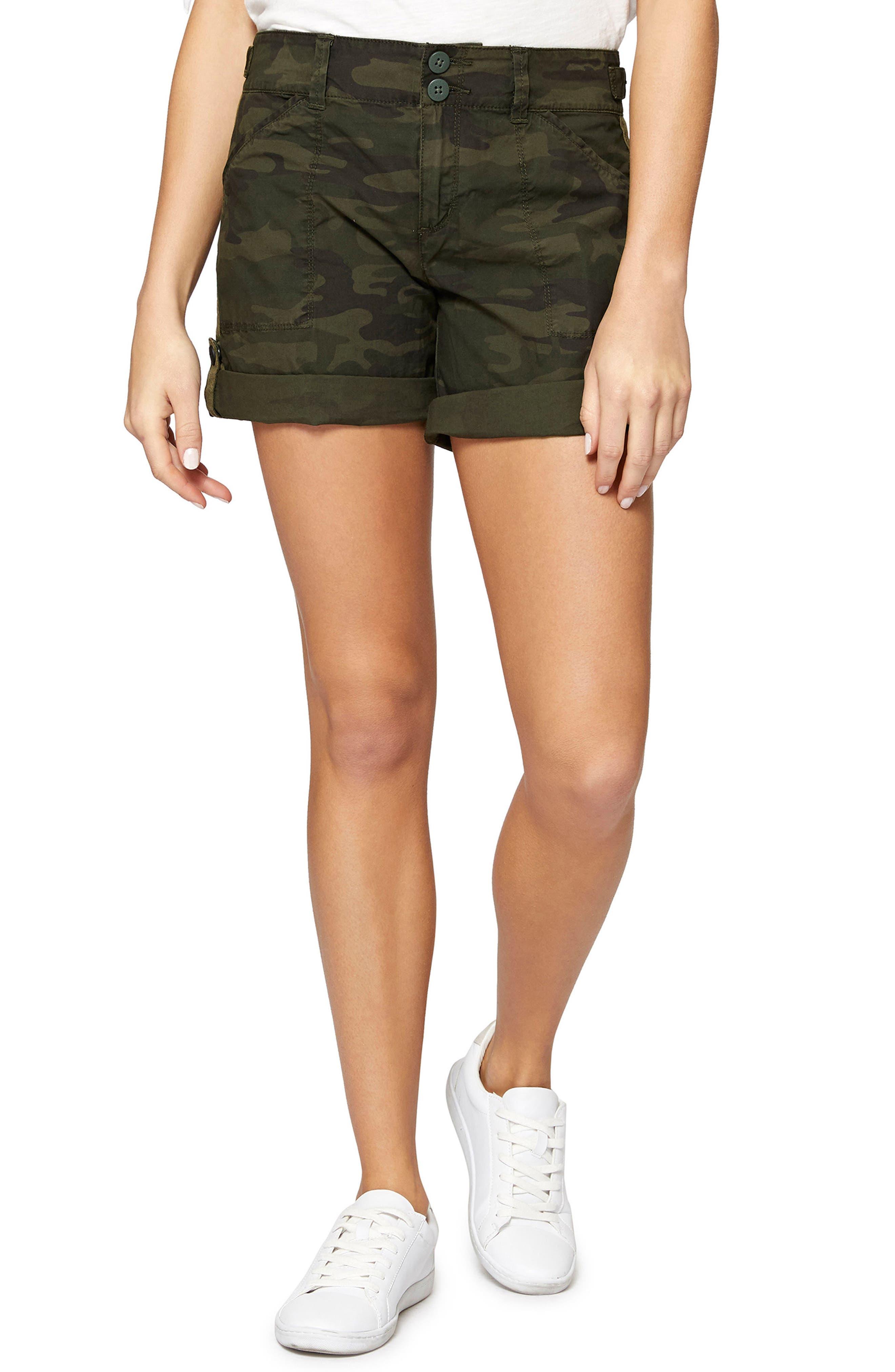 Sanctuary Wanderer Camouflage Shorts