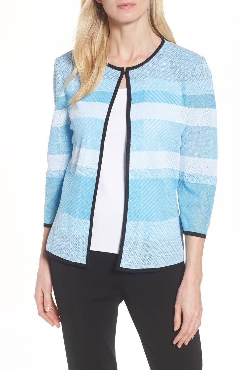 Three-Quarter Sleeve Bluebonnet Jacket