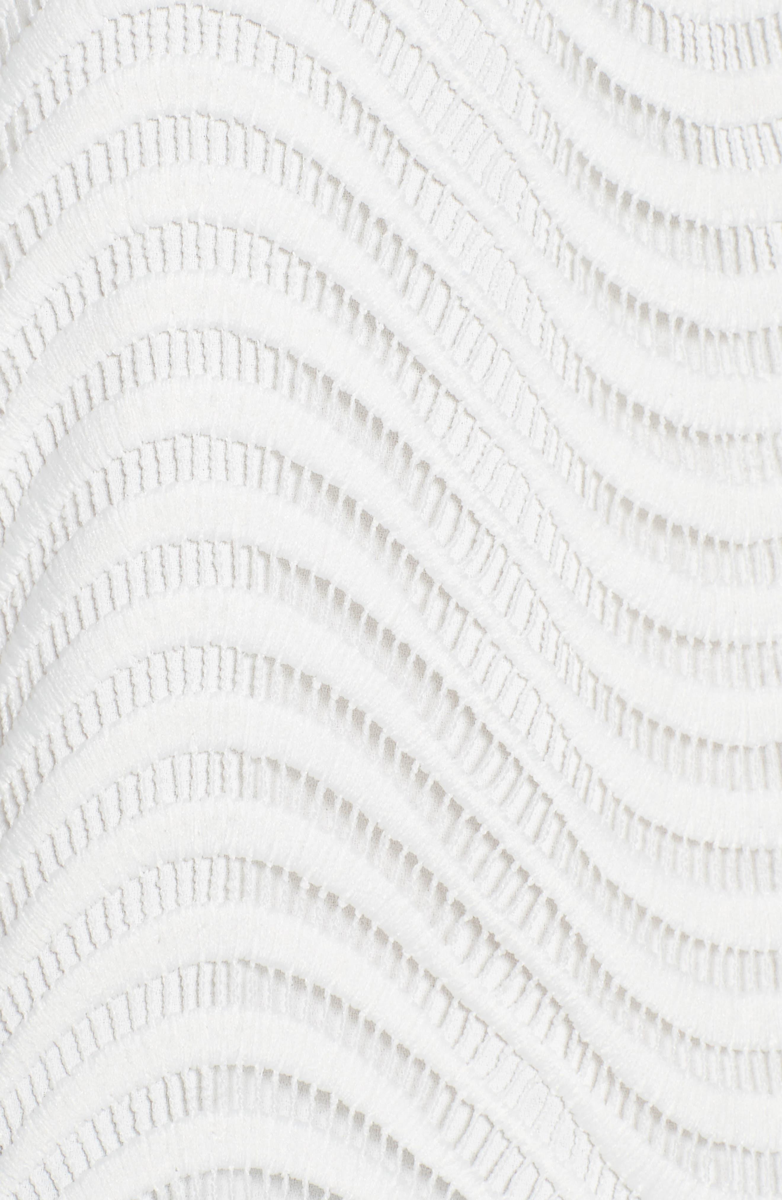 Tunic Blouse,                             Alternate thumbnail 5, color,                             White