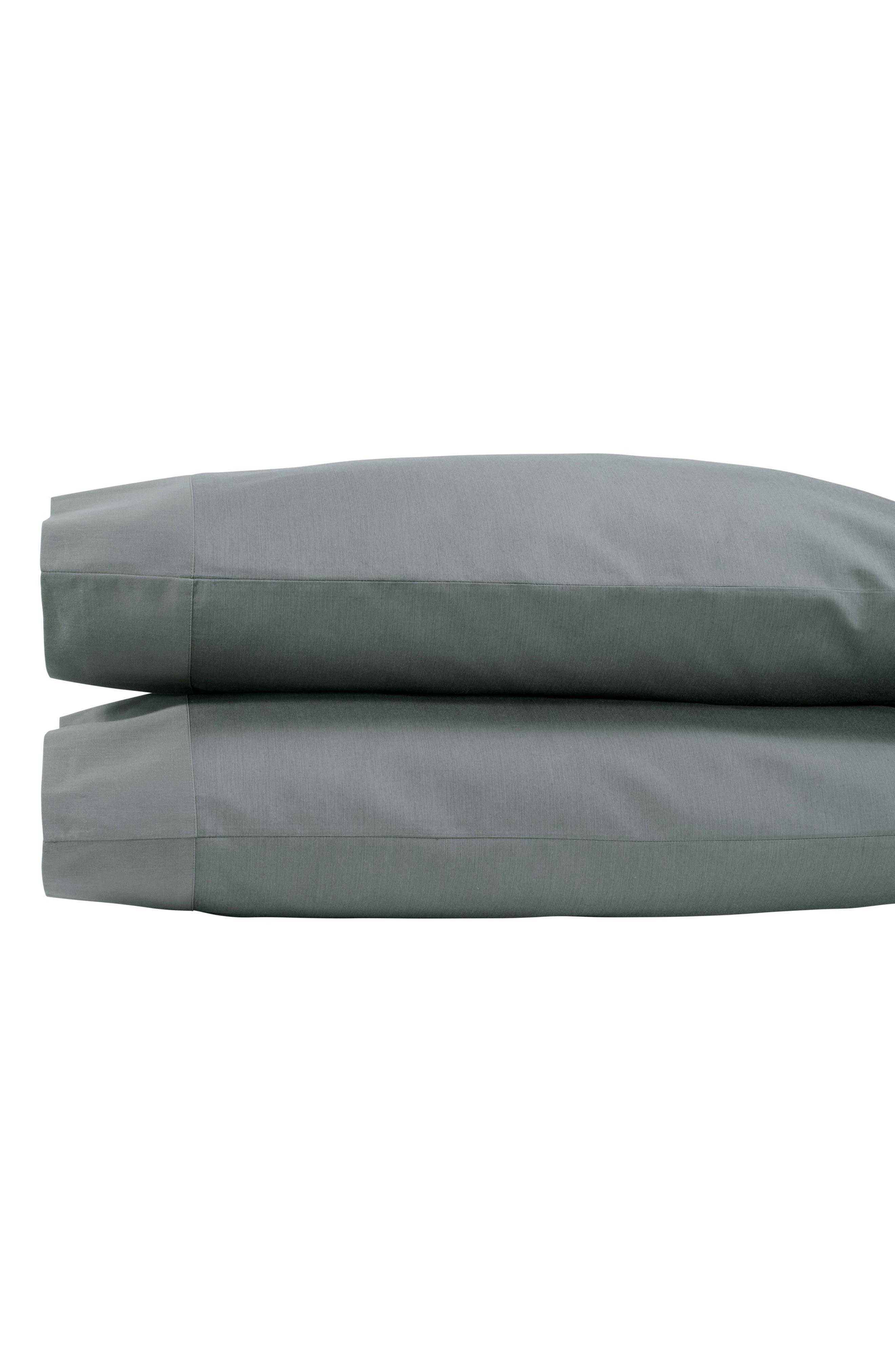 Michael Aram Striated Band 400 Thread Count Pillowcases