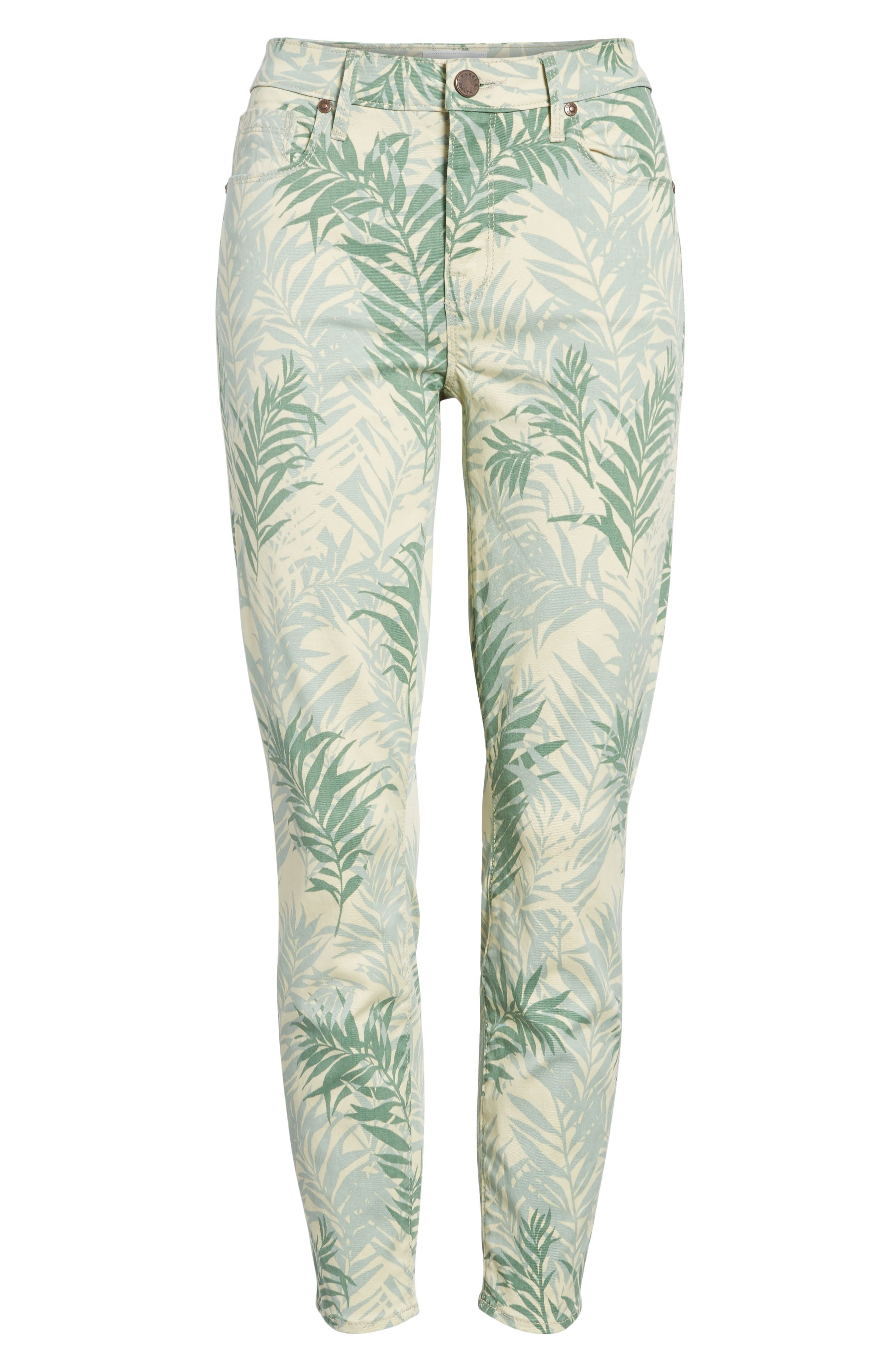 Ava Crop Skinny Jeans,                             Alternate thumbnail 7, color,                             Palm Springs