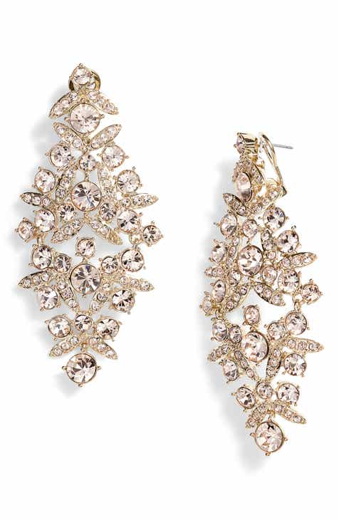 Givenchy Drama Crystal Chandelier Earrings