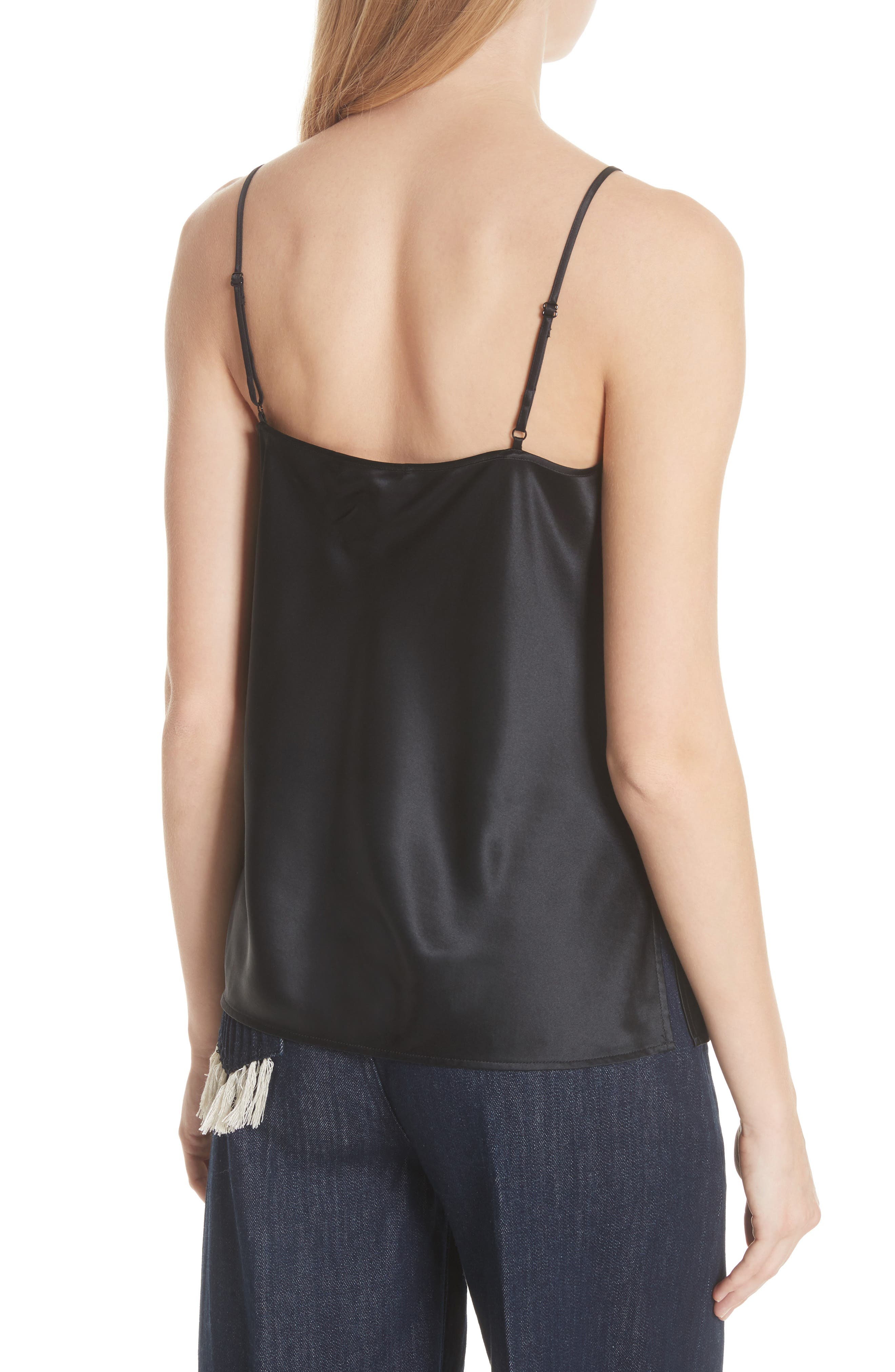 Alternate Image 2  - Tory Burch Claire Lace Pocket Camisole