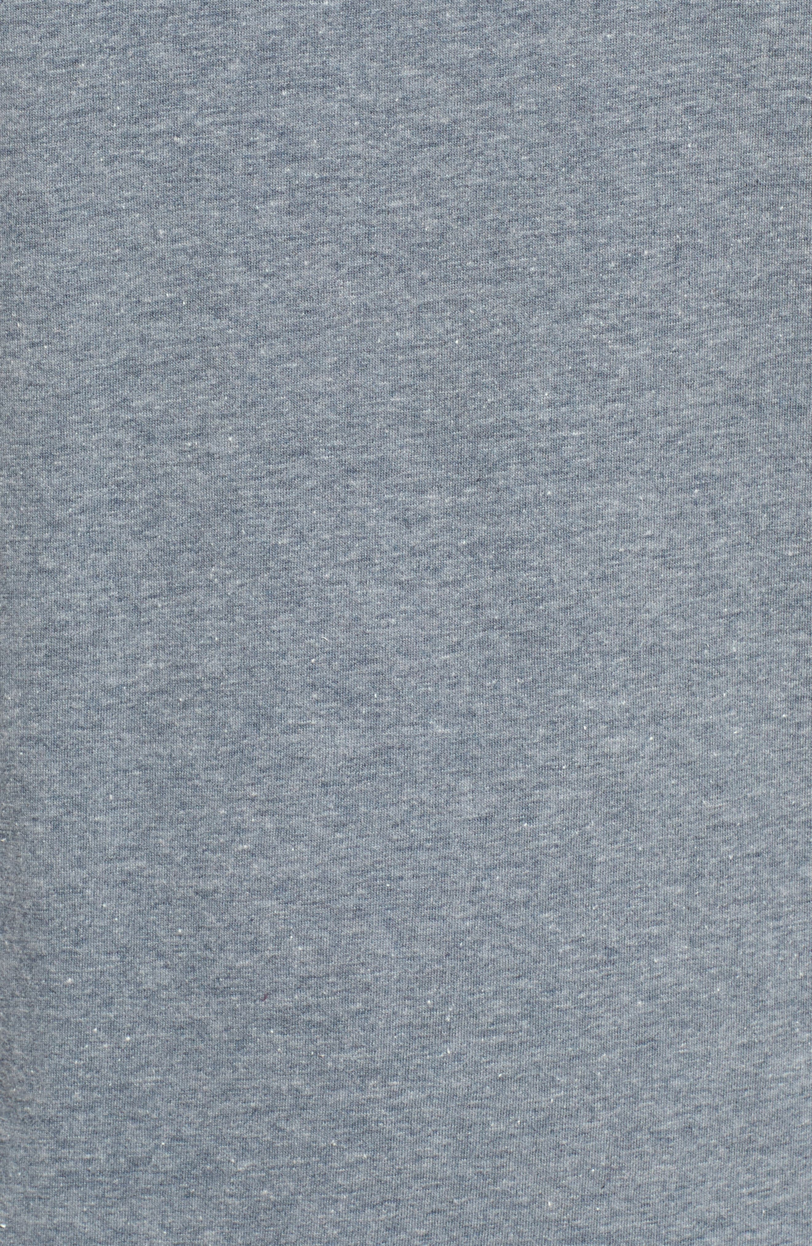 Off the Wall Shaper Graphic T-Shirt,                             Alternate thumbnail 5, color,                             Heather Grey