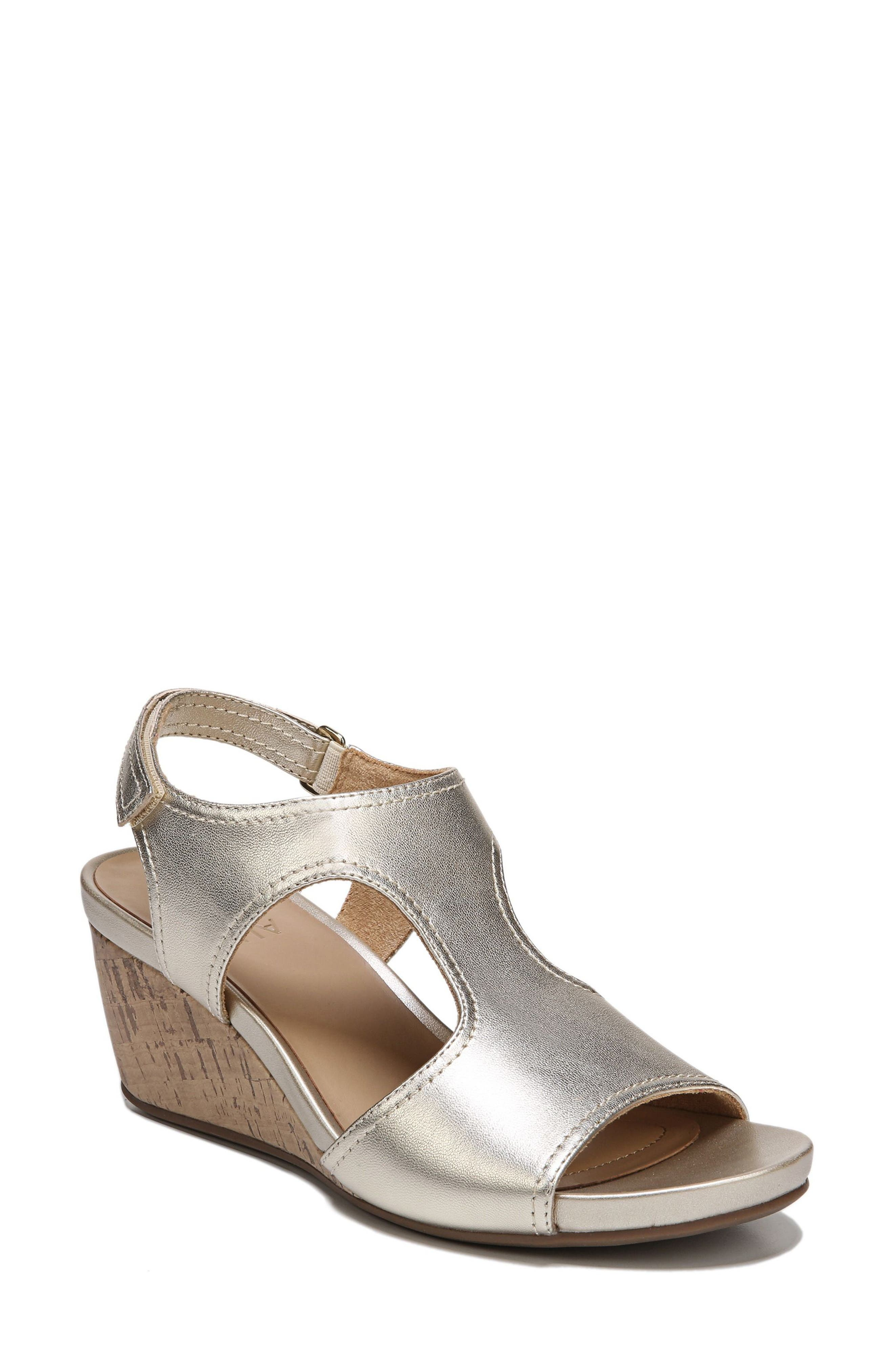 Naturalizer Cinda Wedge Sandal (Women)