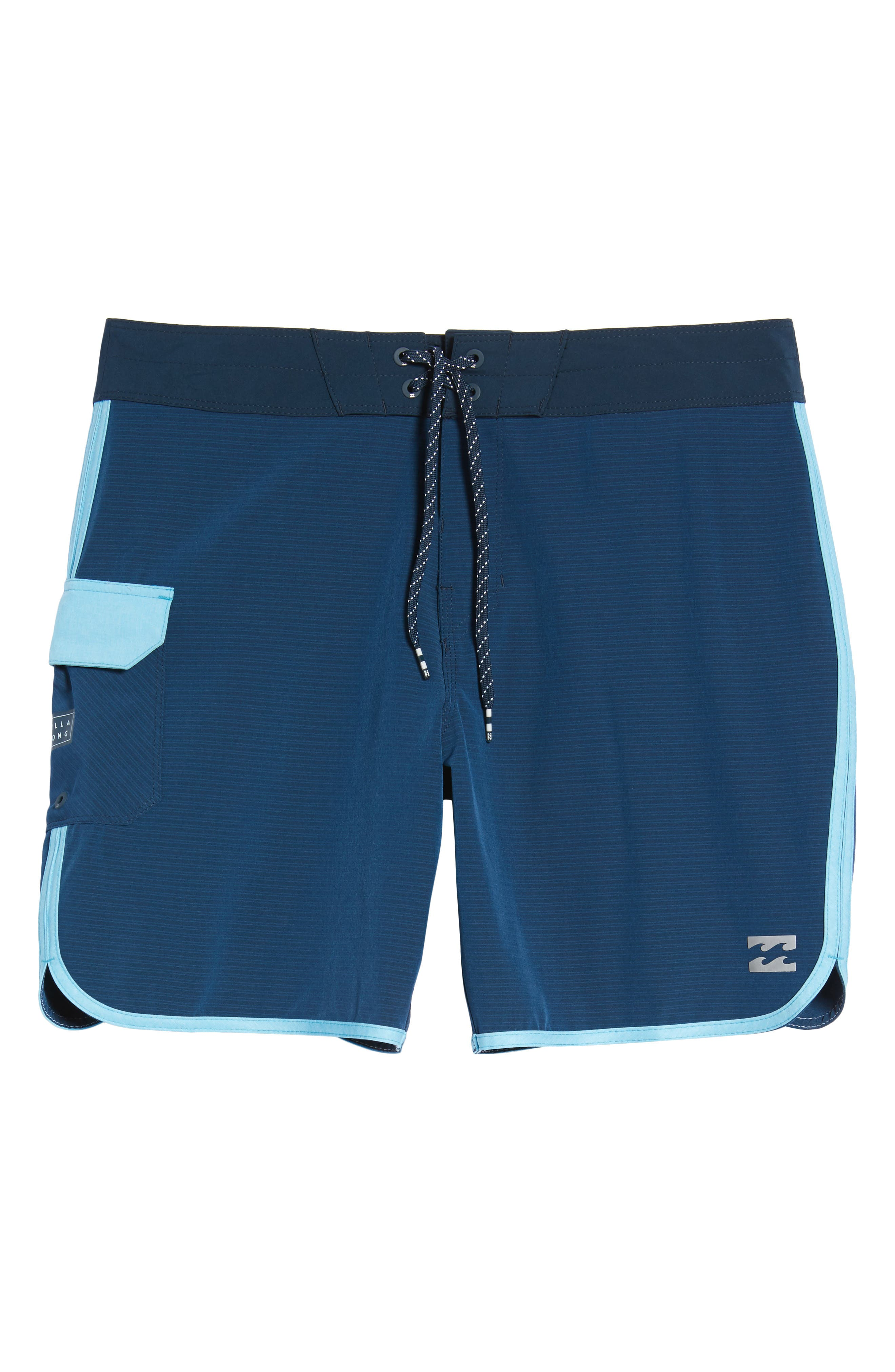 73 X Short Board Shorts,                             Alternate thumbnail 6, color,                             Navy