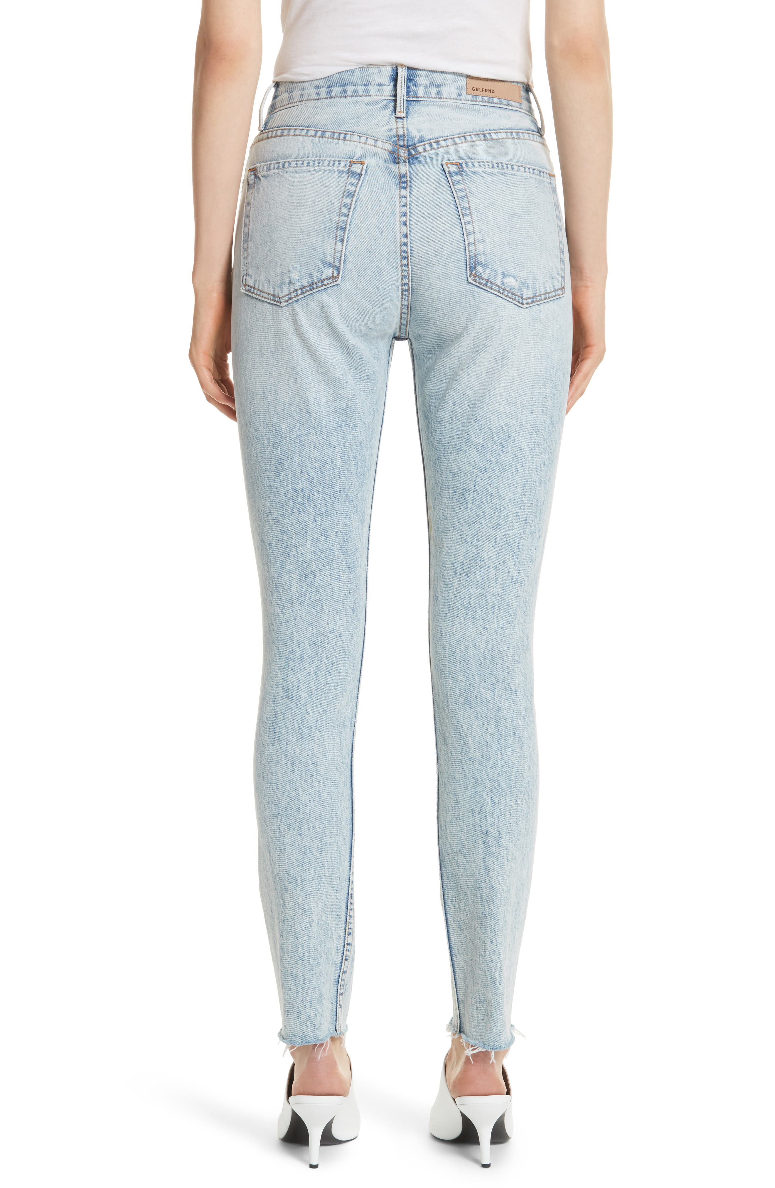 Karolina Ripped Skinny Jeans,                             Alternate thumbnail 2, color,                             Reactive