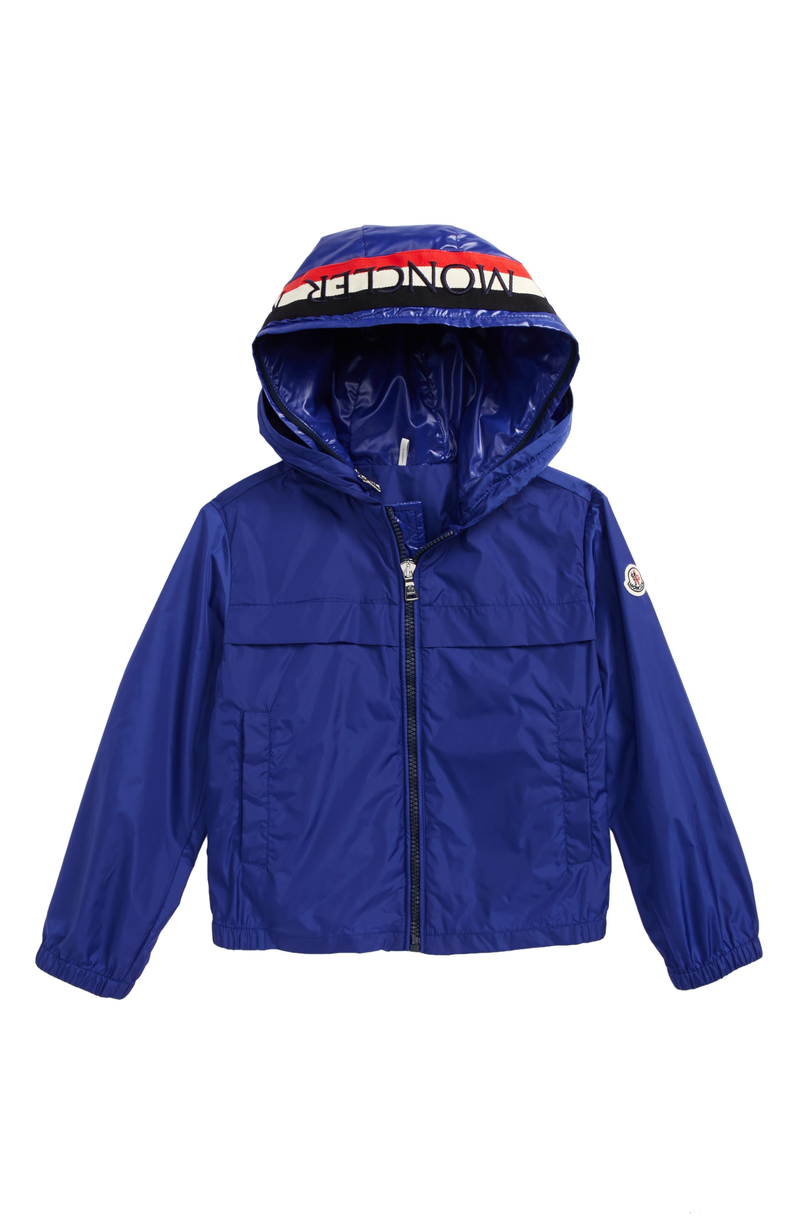 Gradignan Double-Hood Jacket,                             Main thumbnail 1, color,                             Blue