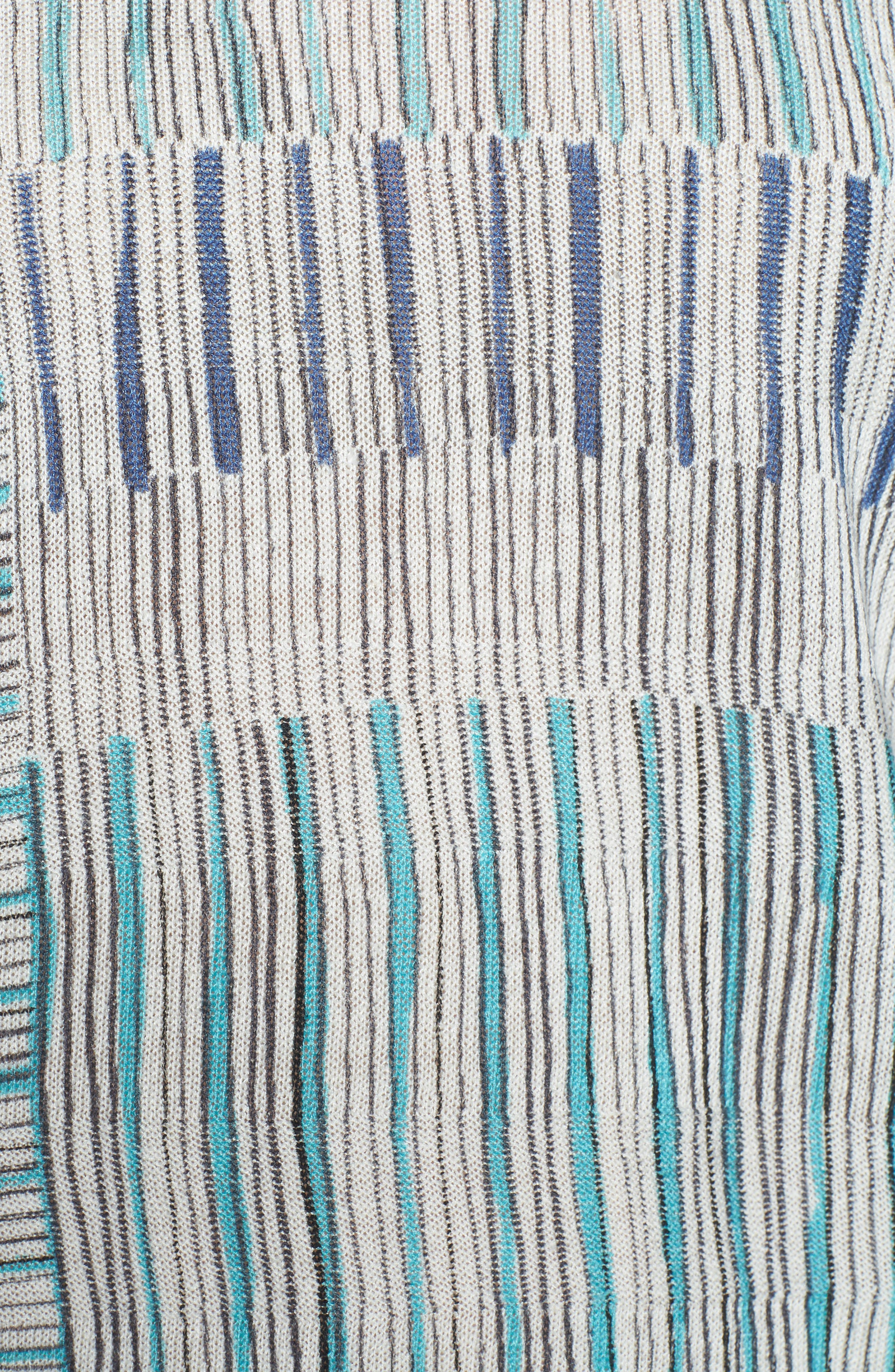 Sea Wall Stripe Top,                             Alternate thumbnail 5, color,                             Multi