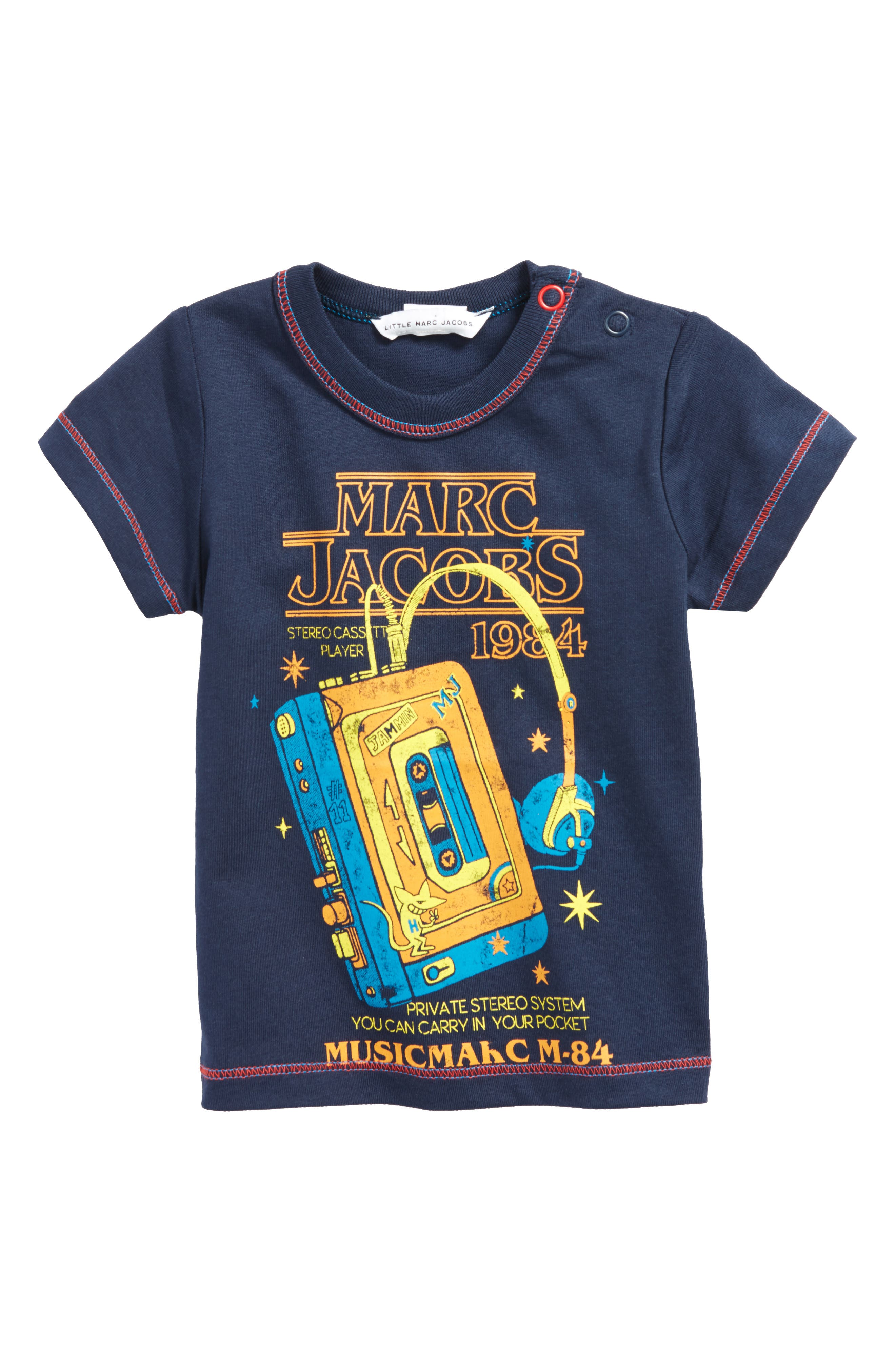 LITTLE MARC JACOBS Graphic Tee (Baby Boys)