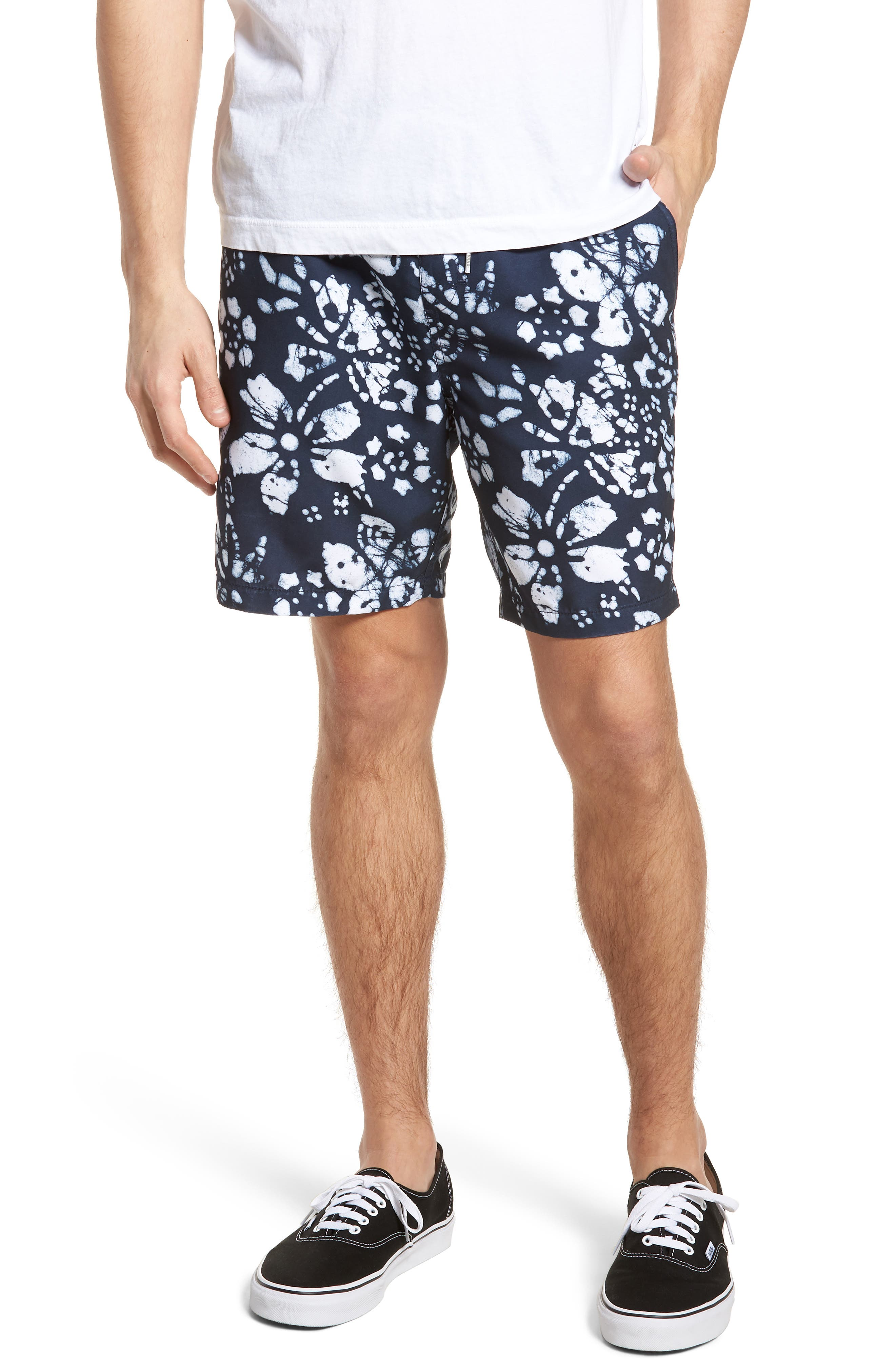 Trippin Decksider Shorts,                         Main,                         color, Trippin Dress Blues