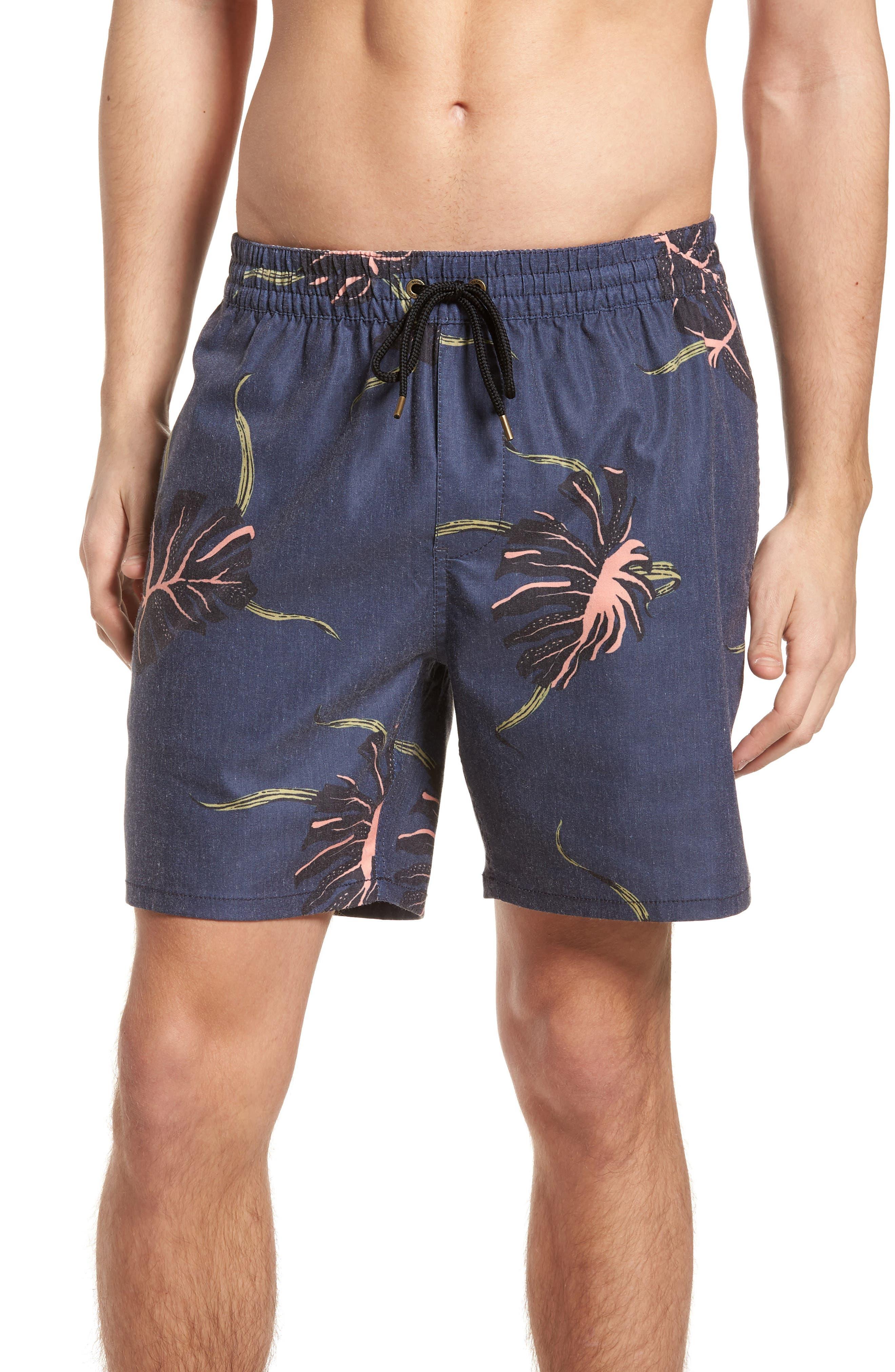 Pointer Pool Shorts,                         Main,                         color, Moonlight Blue