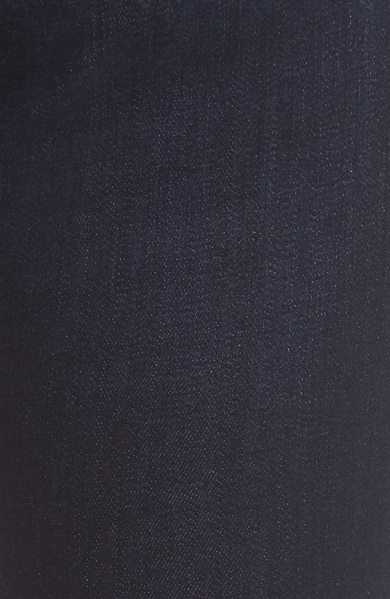 Kendra Straight Leg Jeans,                             Alternate thumbnail 6, color,                             Deep Supersoft