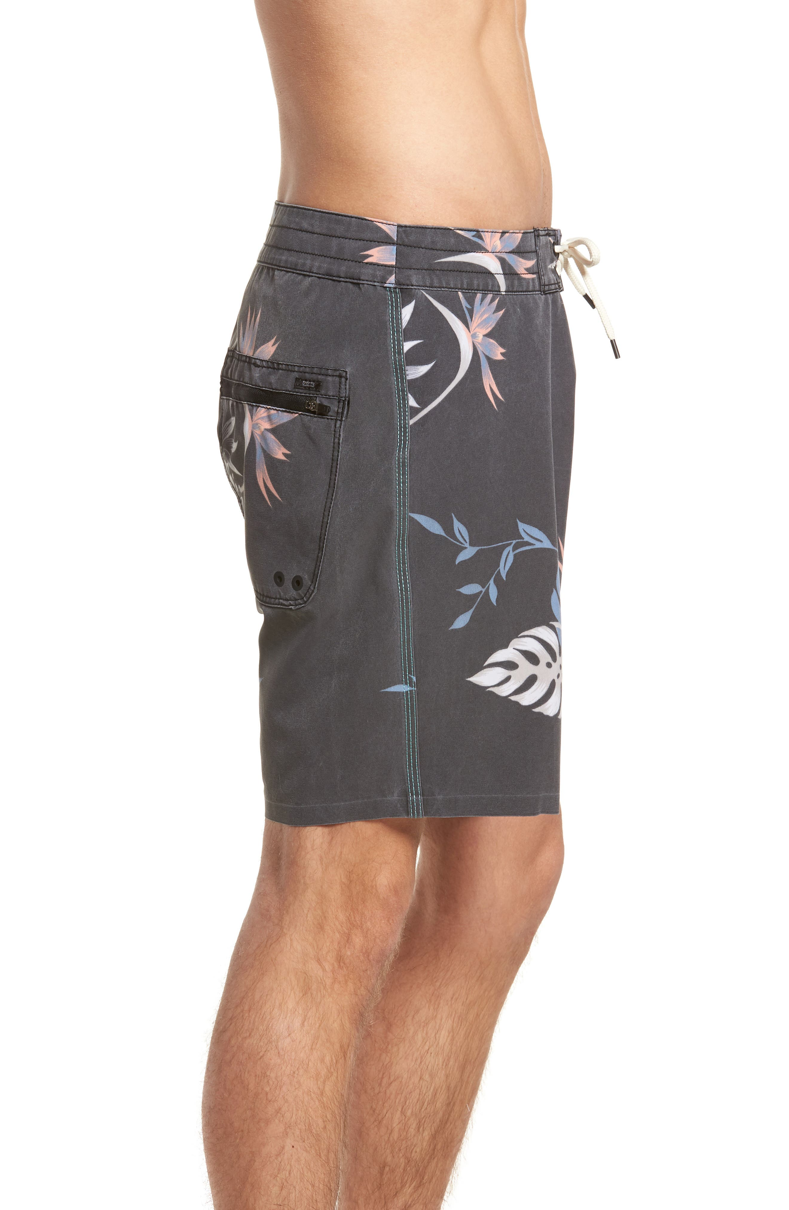 Shangri-La 3.0 Board Shorts,                             Alternate thumbnail 3, color,                             Granite