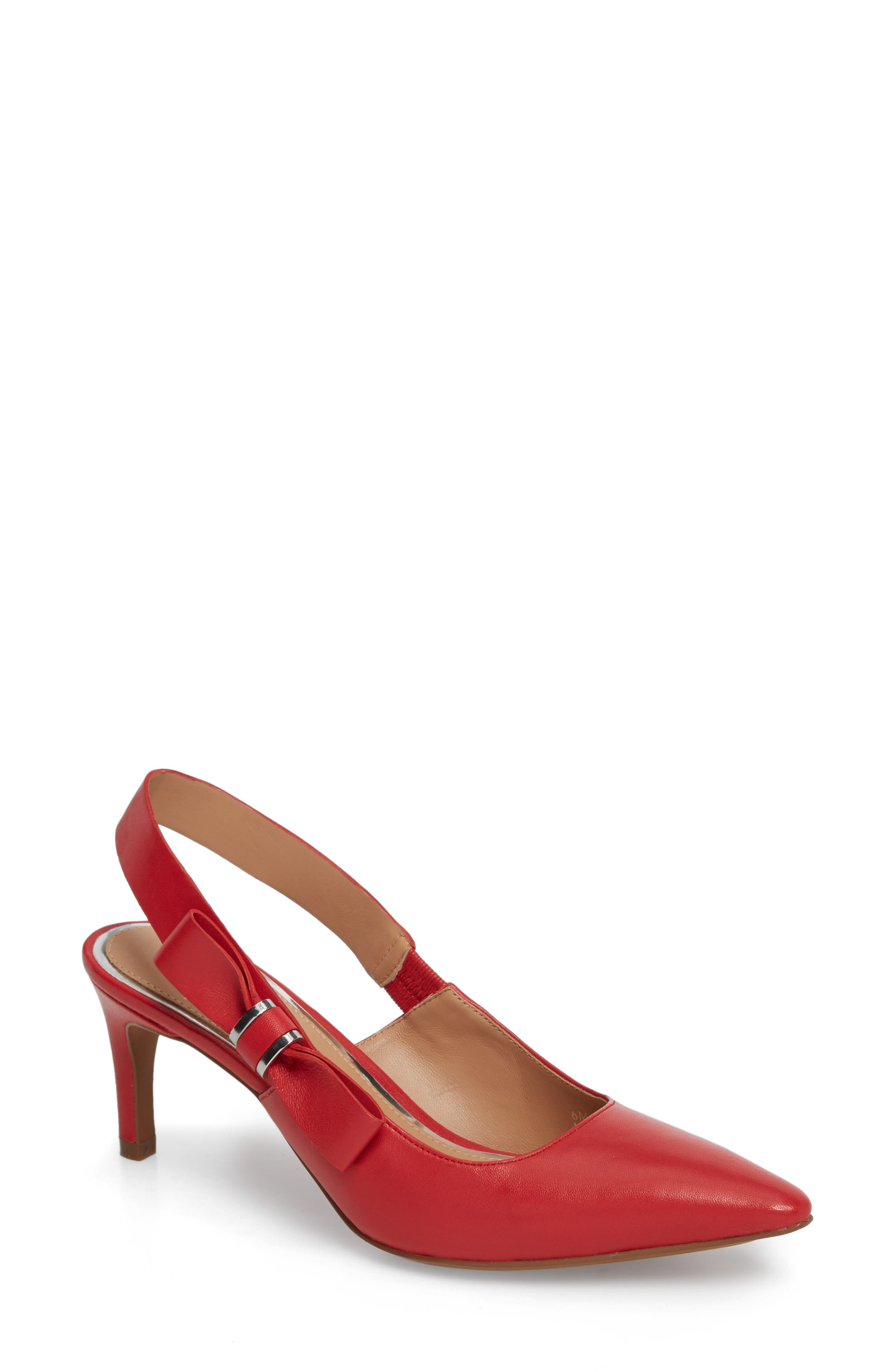 Women's Red Slingback Pumps | Nordstrom