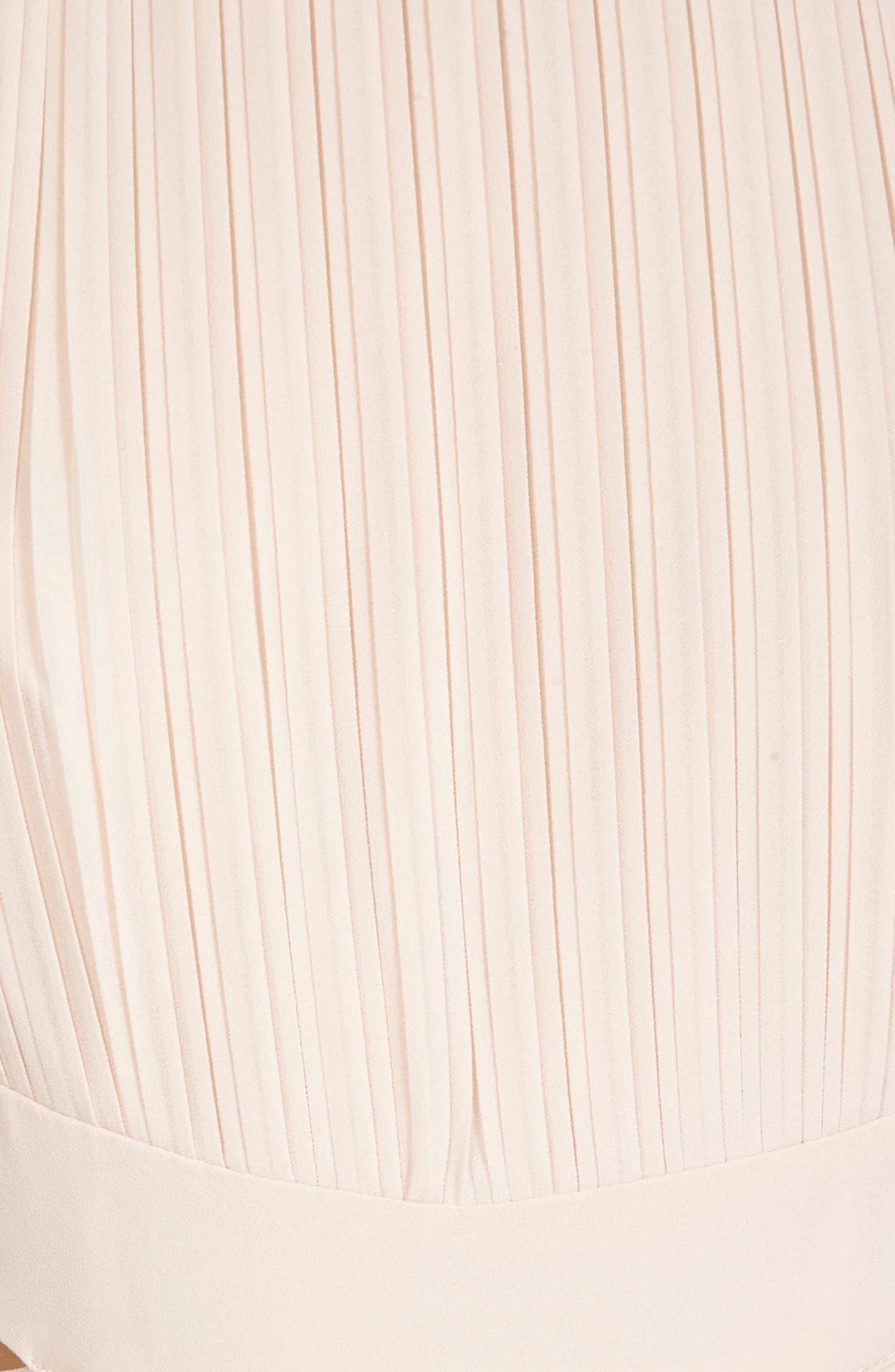 Boston Cutout Maxi Dress,                             Alternate thumbnail 4, color,                             Nude