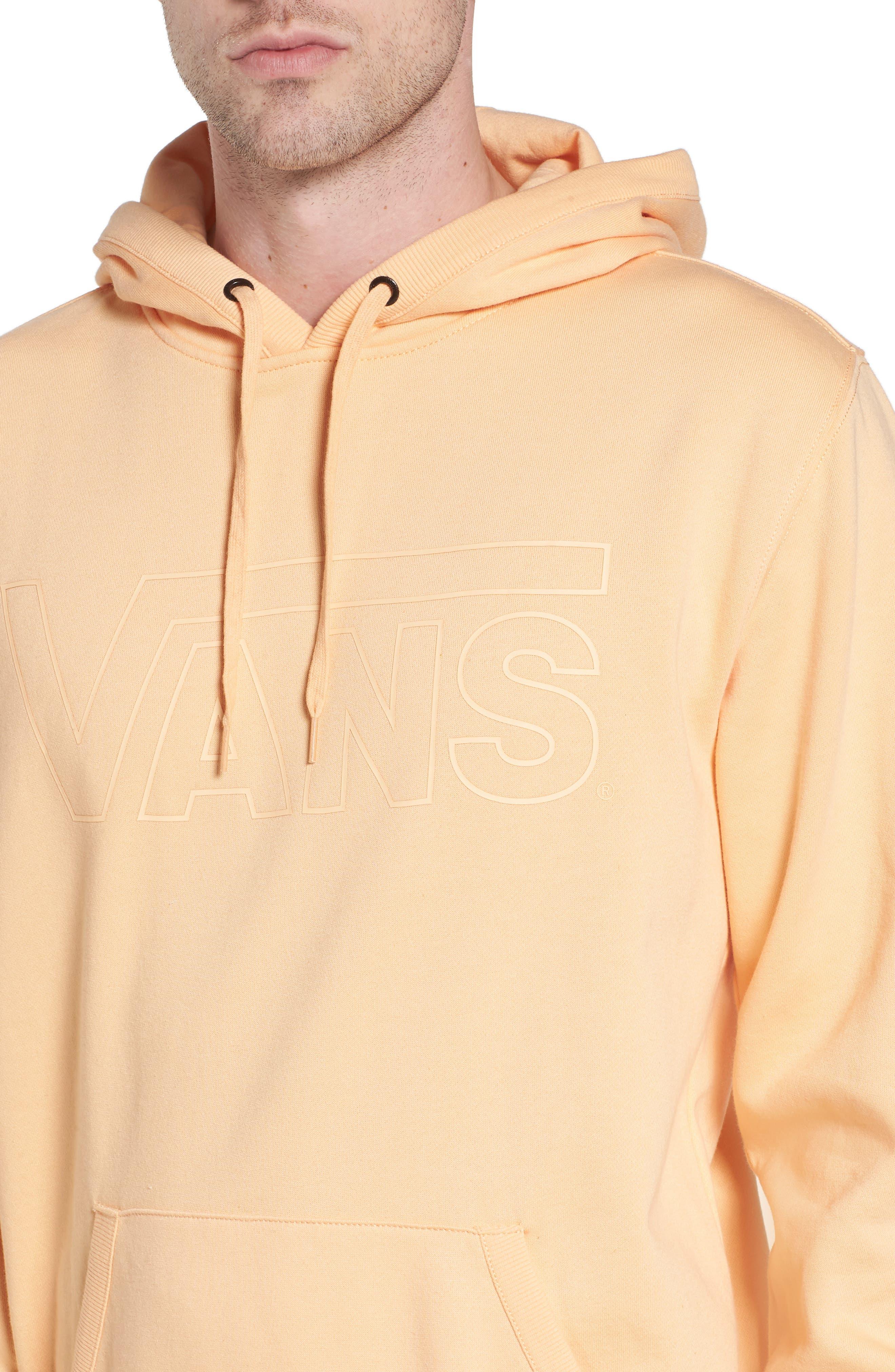 Classic Hoodie Sweatshirt,                             Alternate thumbnail 4, color,                             Apricot Ice