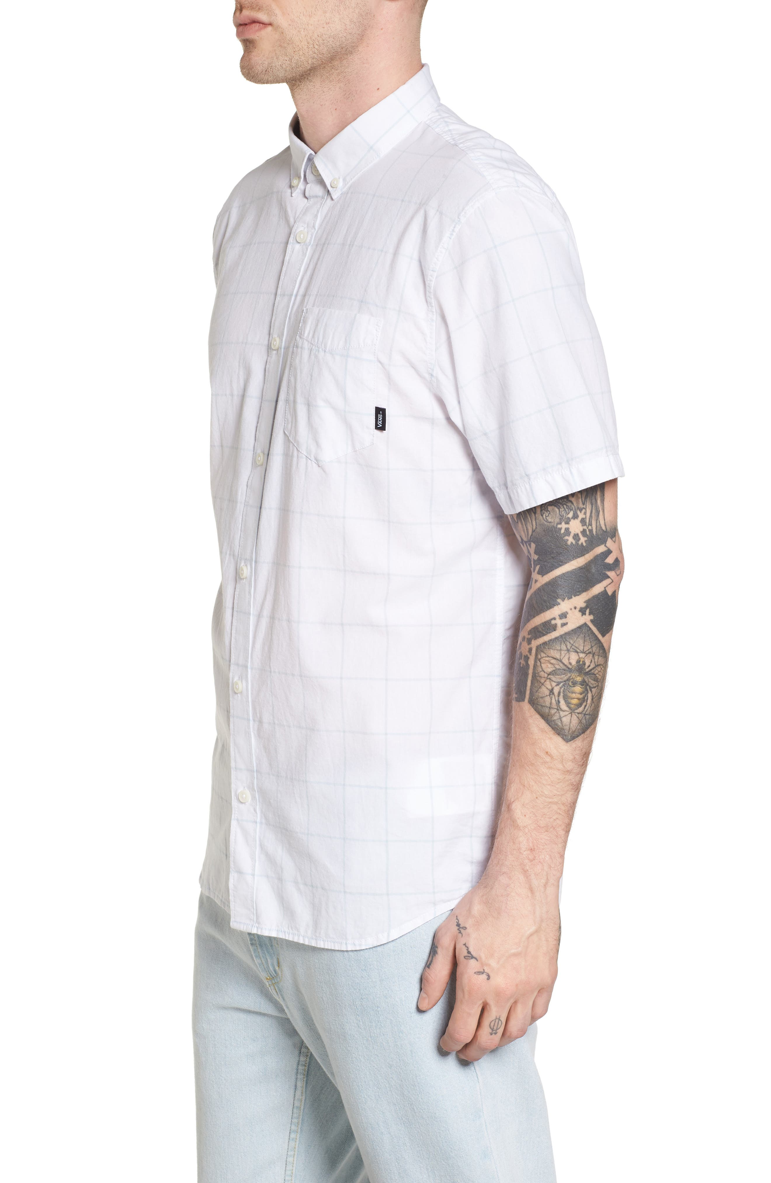 Alternate Image 3  - Vans Benham Short-Sleeve Shirt