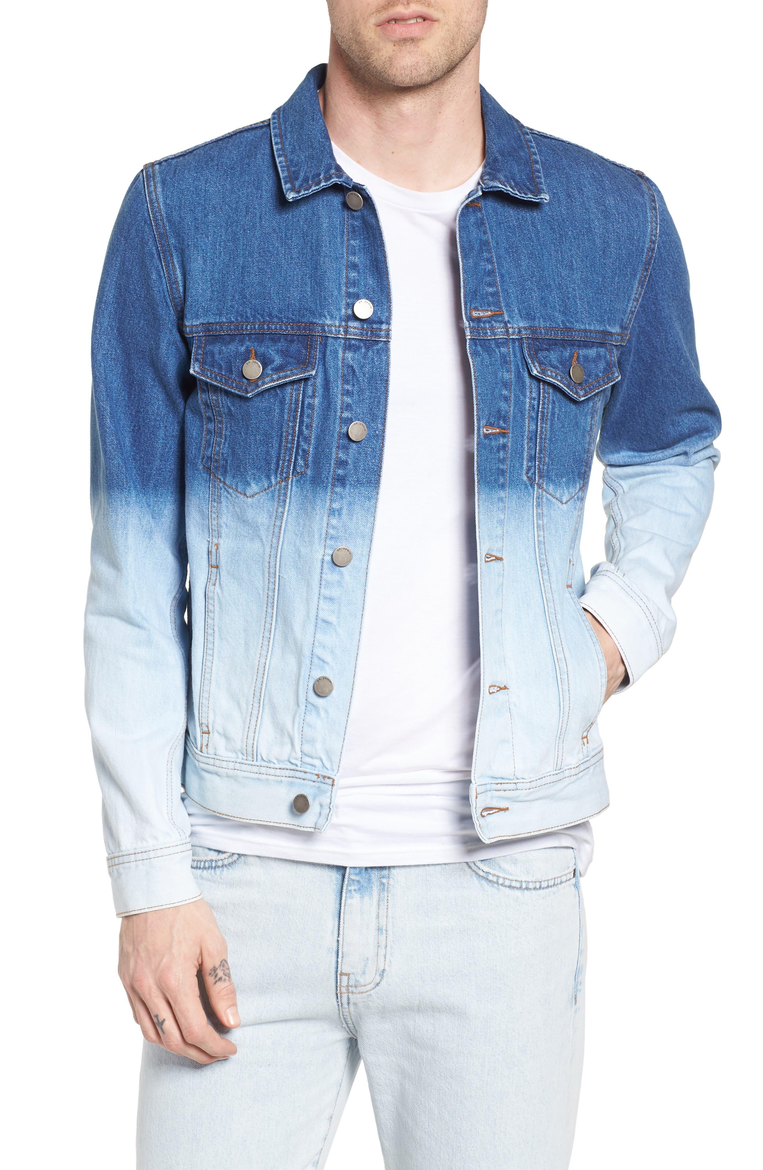 Dwight Denim Jacket,                         Main,                         color, Blue Tunes