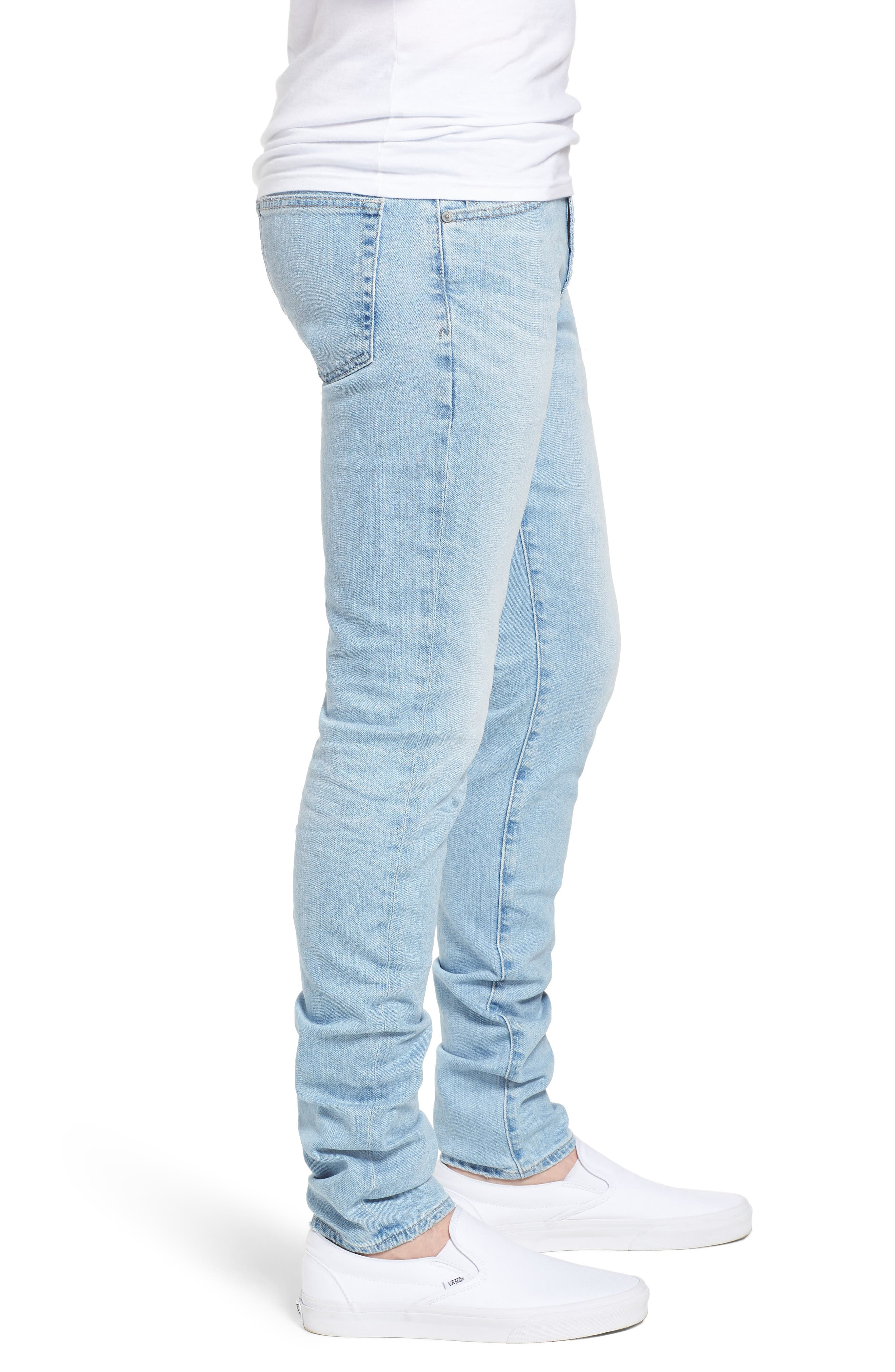 Stockton Skinny Fit Jeans,                             Alternate thumbnail 3, color,                             21 Years Solstice
