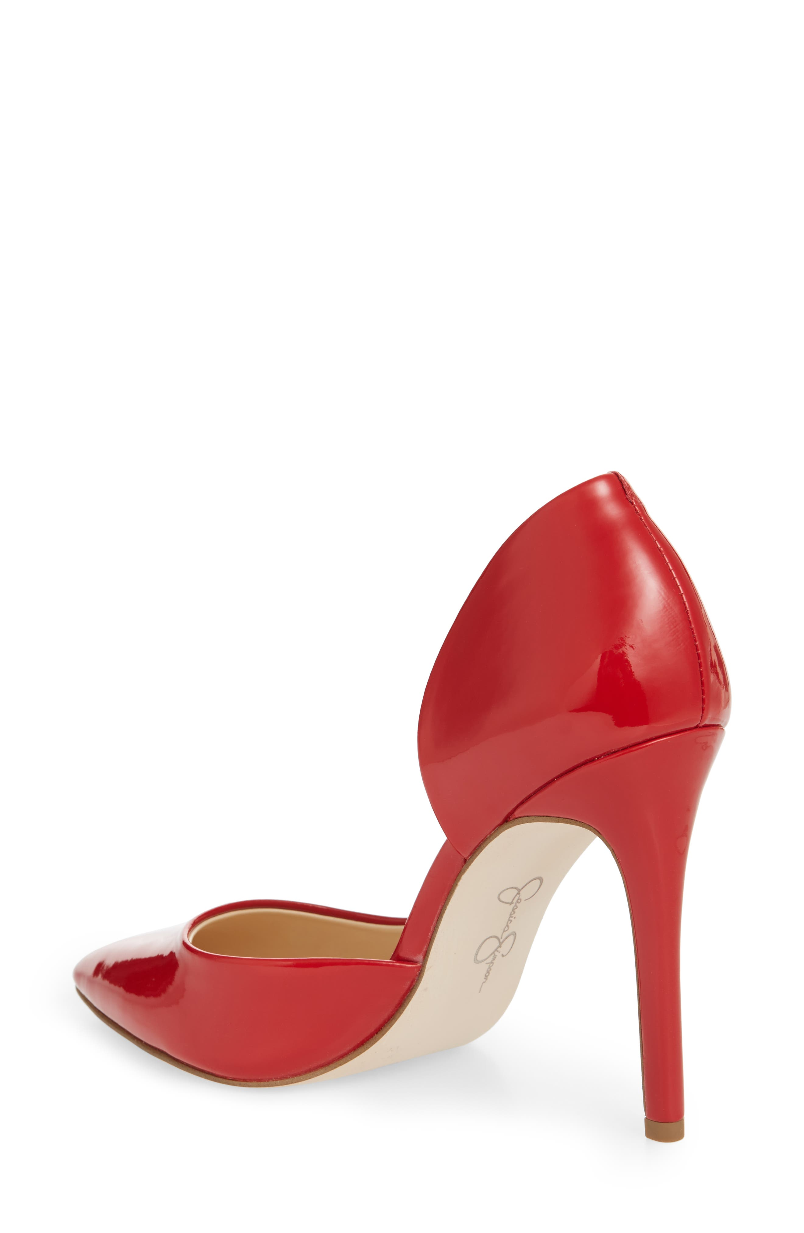Pheona Pump,                             Alternate thumbnail 2, color,                             Red Muse