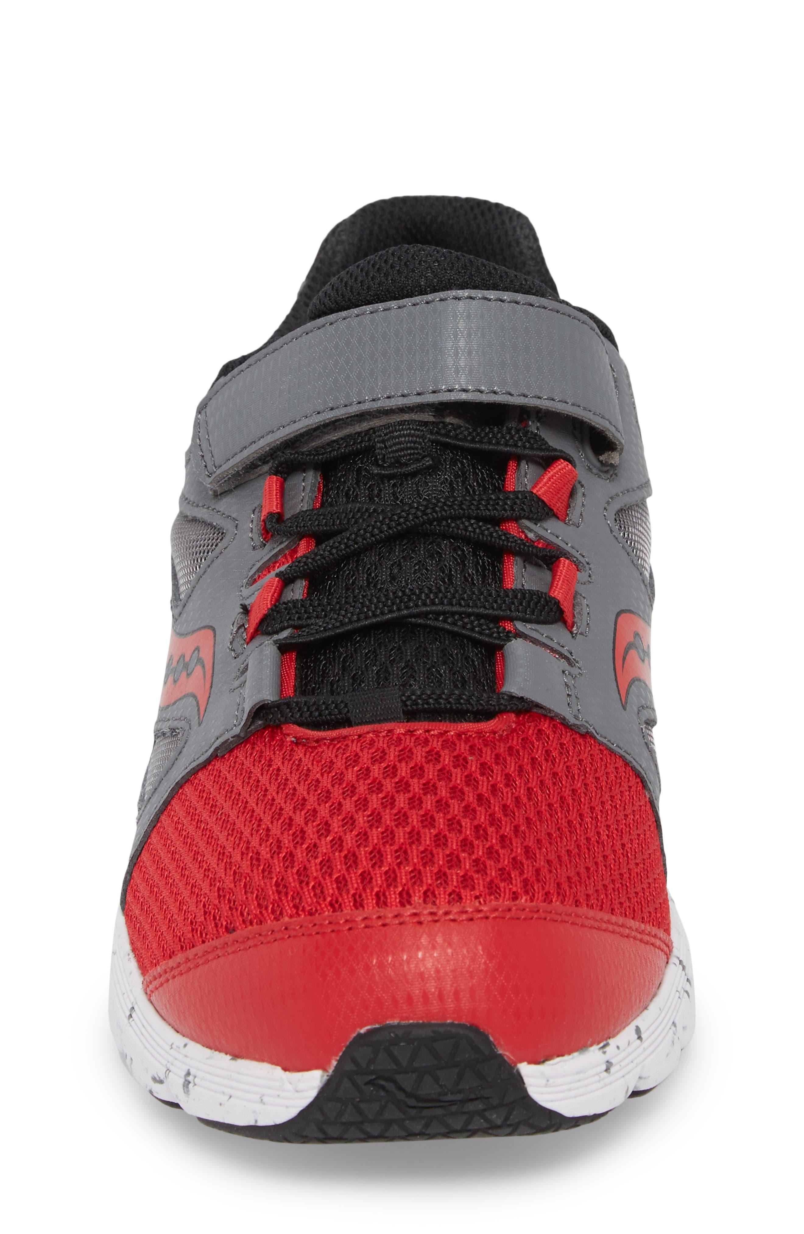 Kotaro 4 Sneaker,                             Alternate thumbnail 4, color,                             Red/ Grey