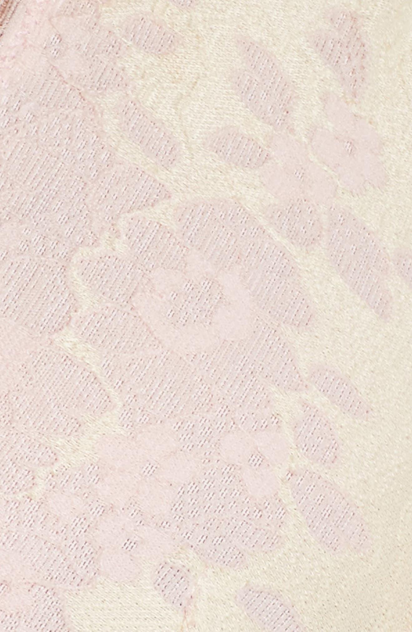 Italia Bralette,                             Alternate thumbnail 10, color,                             Rose Dawn/ Sunrise Yellow