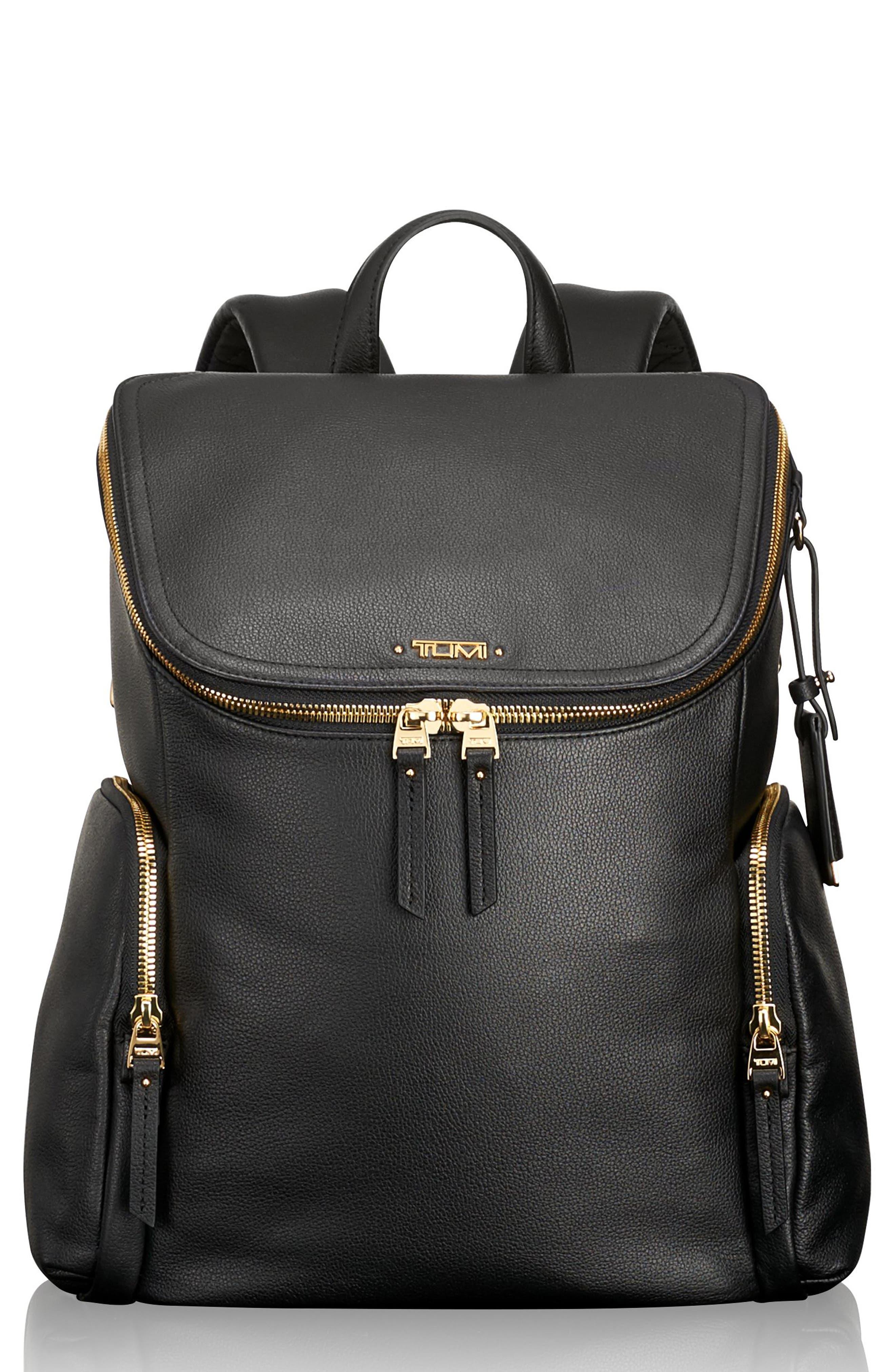 Tumi Voyageur Lexa Leather Backpack