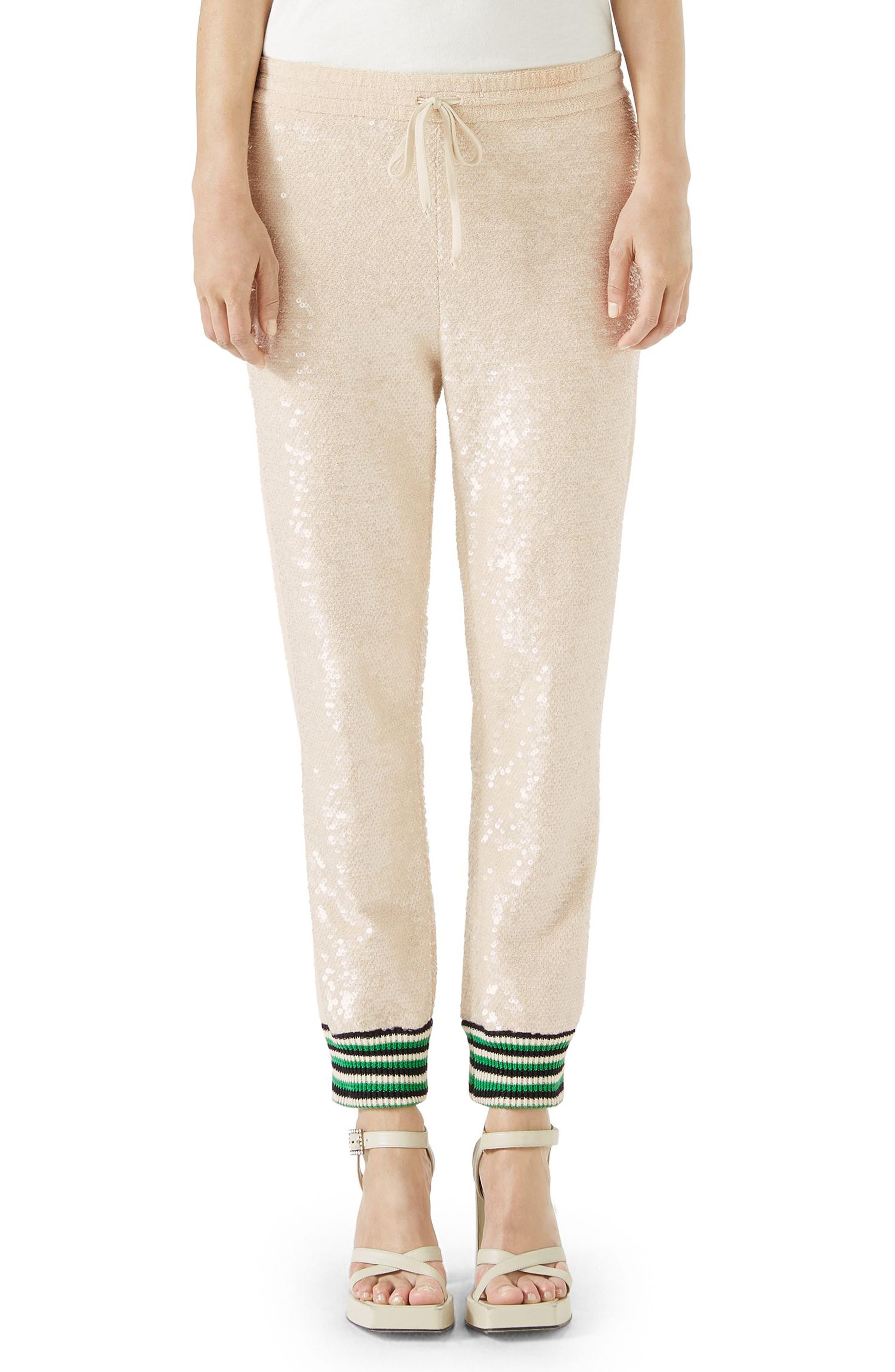 Gucci Sequin Jogger Pants