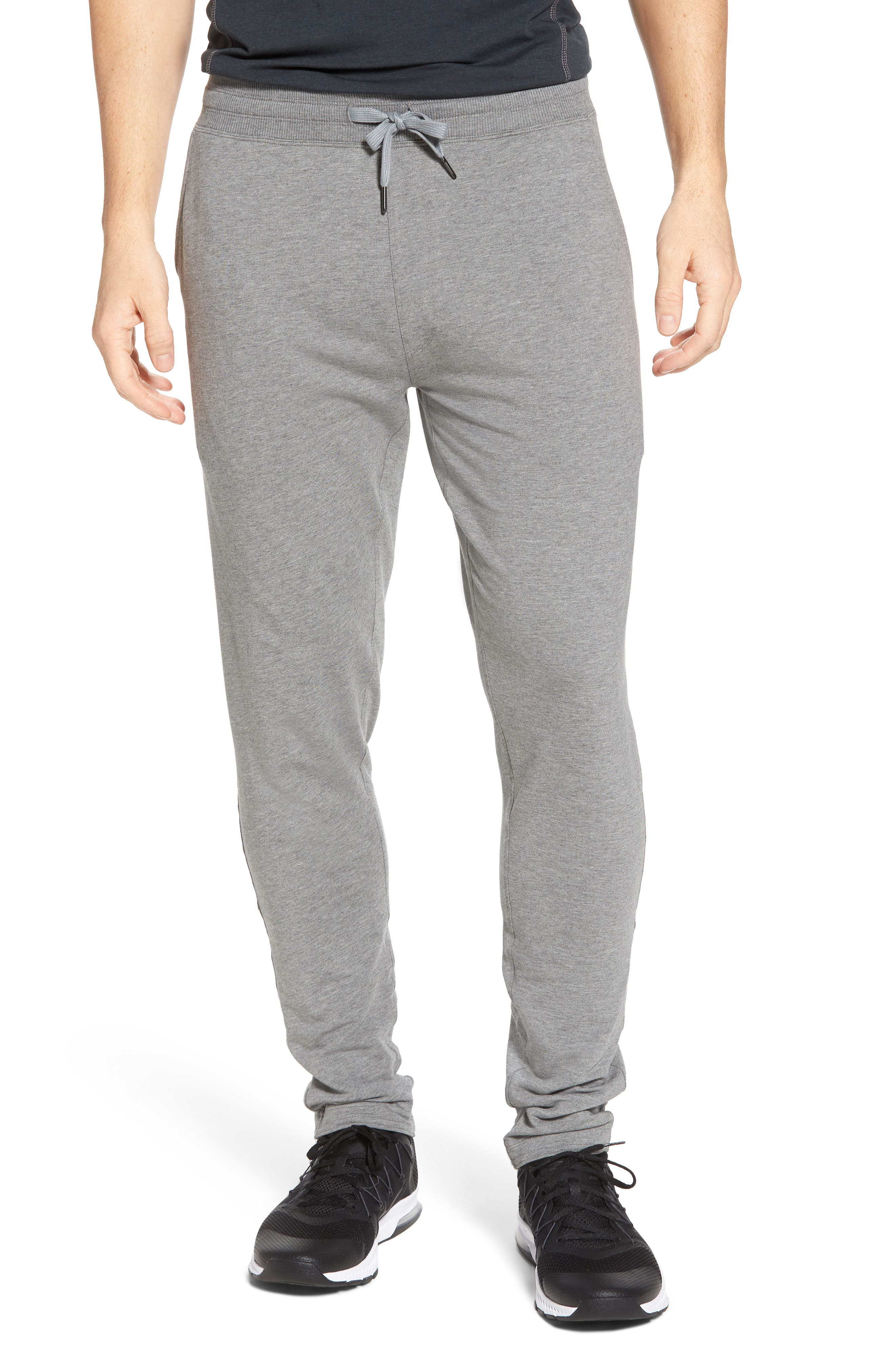 Legacy Lounge Pants,                             Main thumbnail 1, color,                             Heather Grey