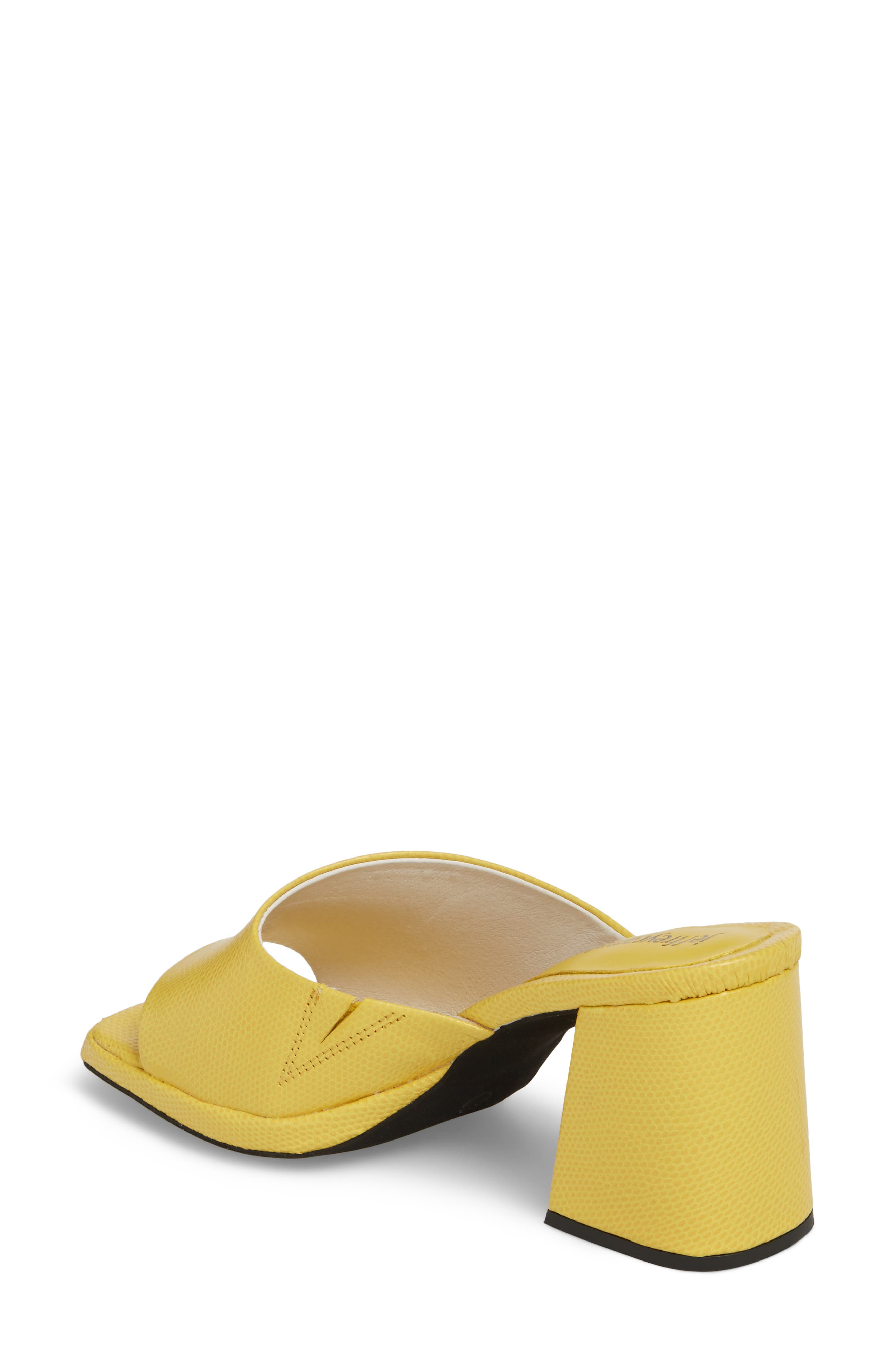 Suzuci Sandal,                             Alternate thumbnail 2, color,                             Yellow Leather