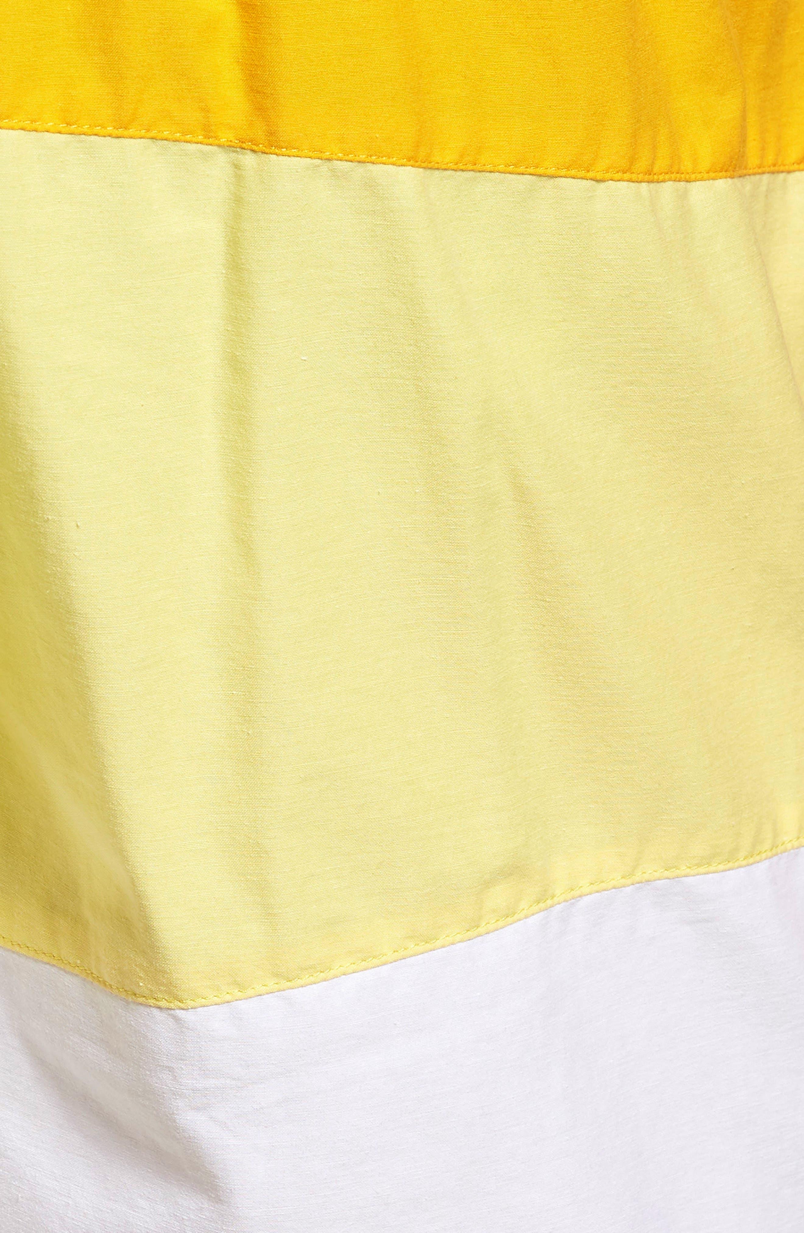 Alternate Image 5  - Lacoste Colorblock Swim Trunks