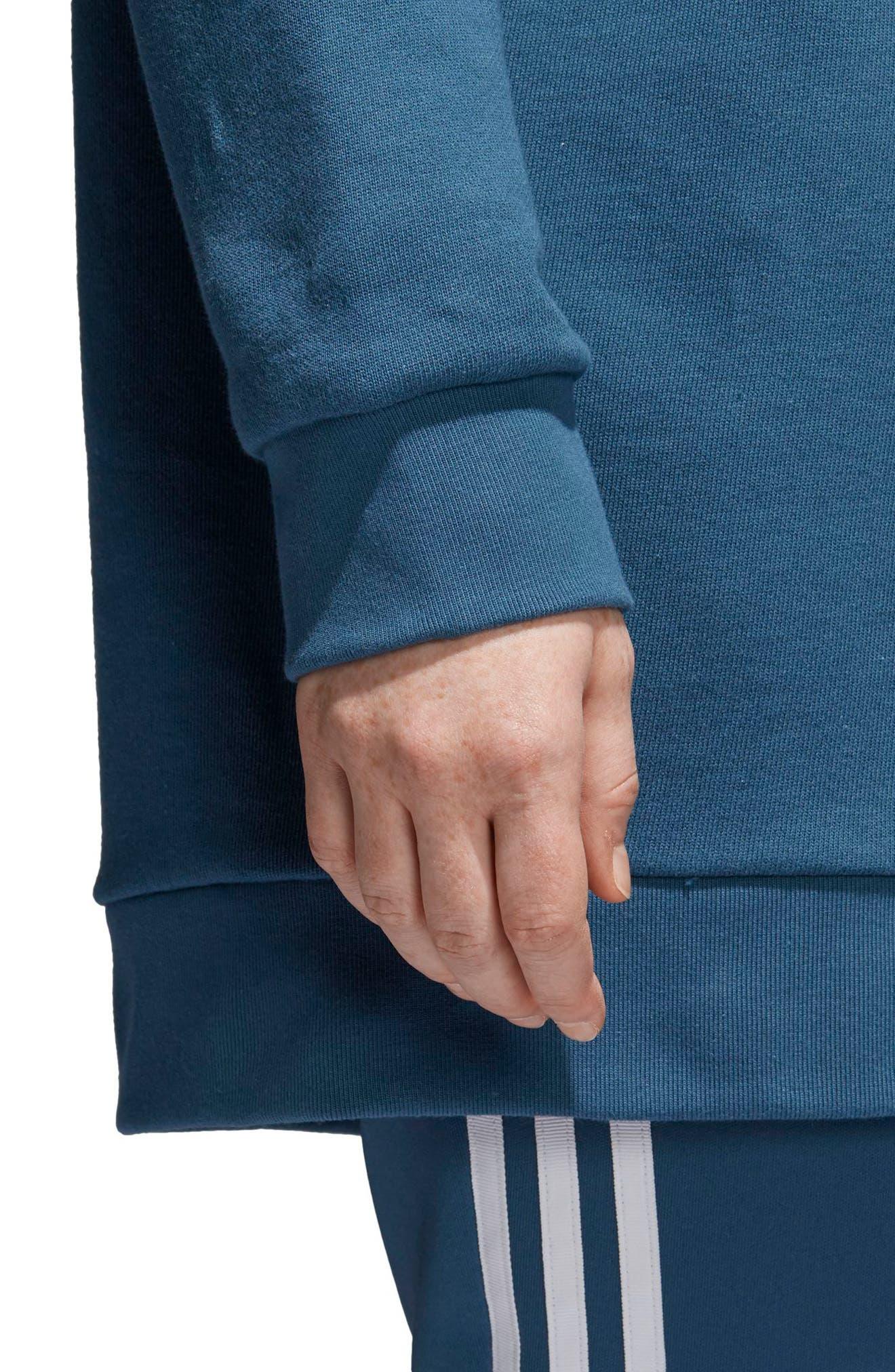Originals Oversize Sweatshirt,                             Alternate thumbnail 6, color,                             Dark Steel