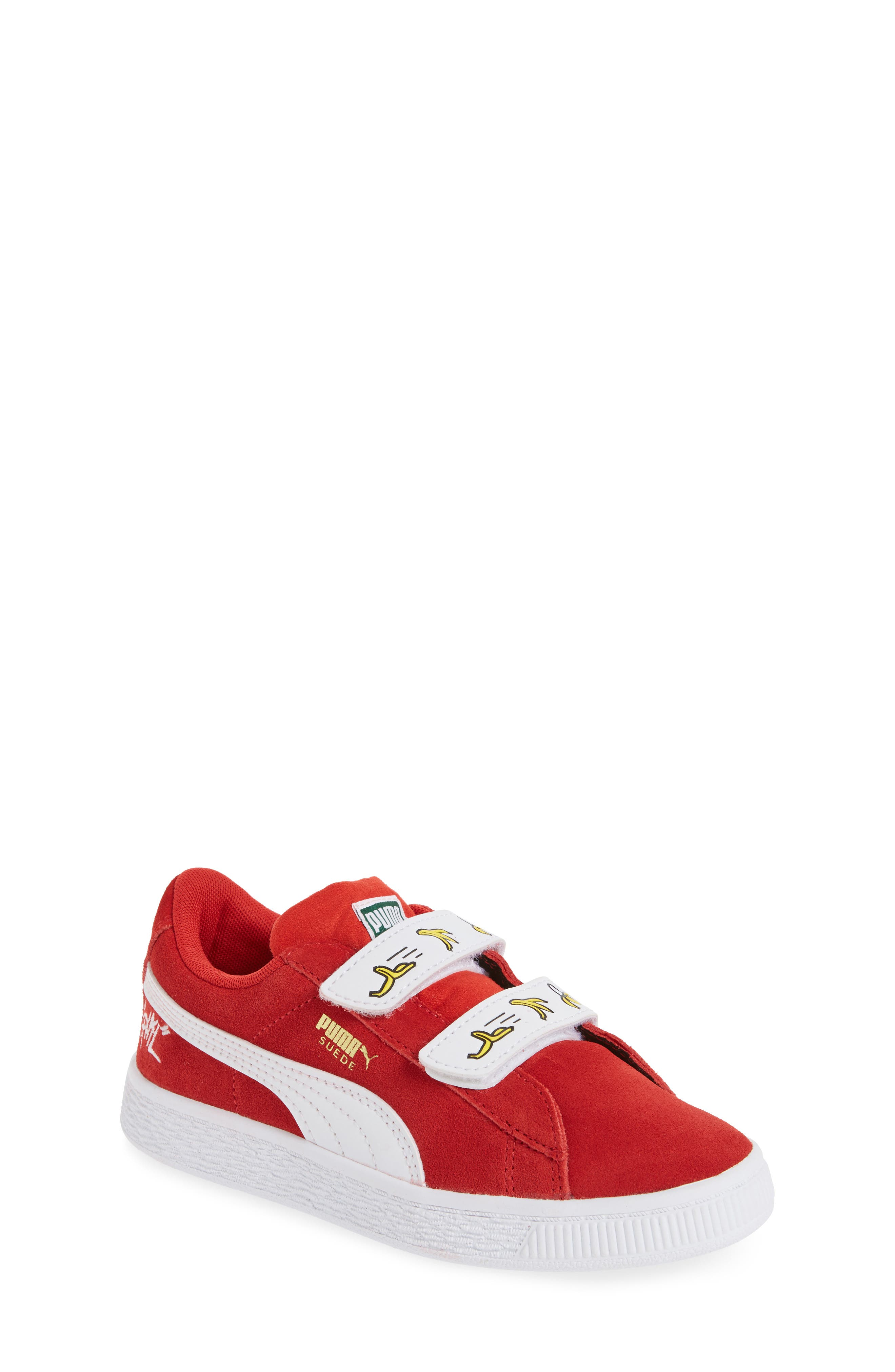 PUMA x Minions Suede V Sneaker (Baby, Walker, Toddler, Little Kid & Big Kid)