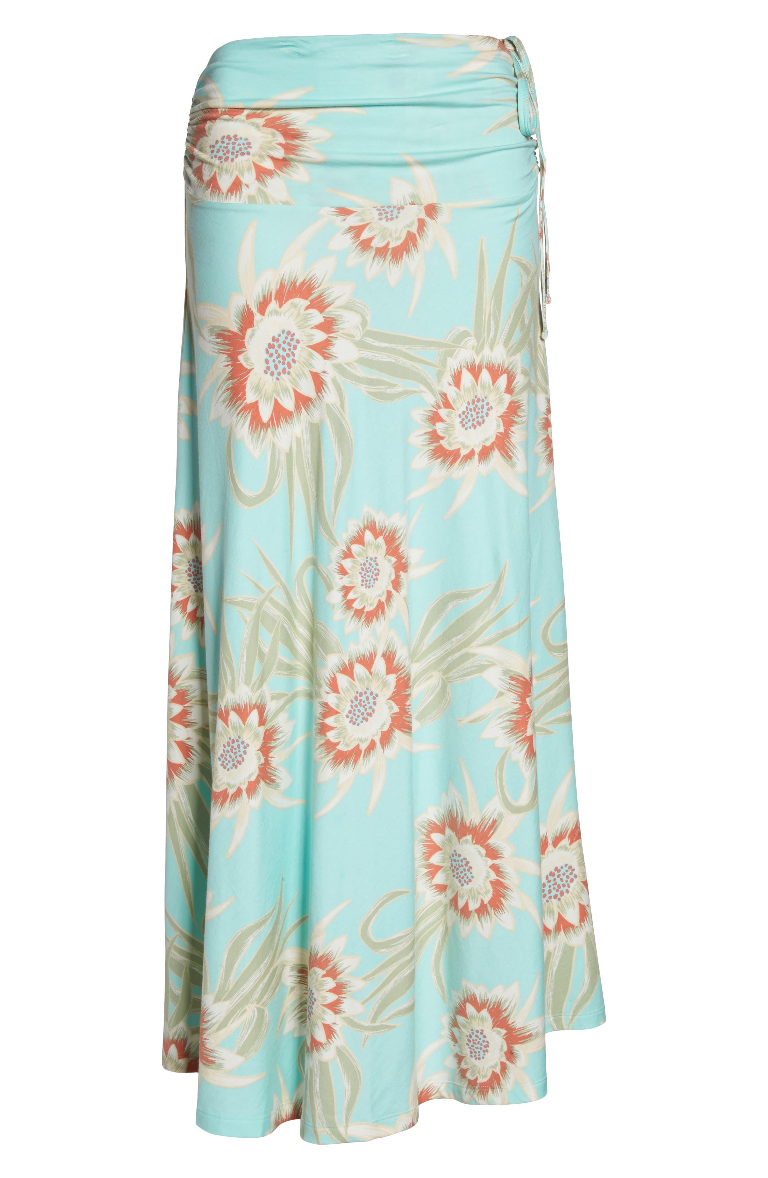Kamala Maxi Skirt,                             Alternate thumbnail 8, color,                             Cereus Flower Bend