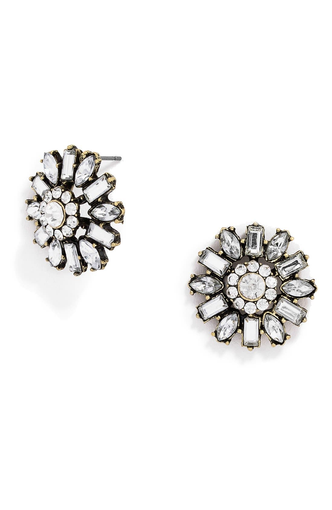 Alternate Image 1 Selected - BaubleBar 'Posy' Crystal Studs