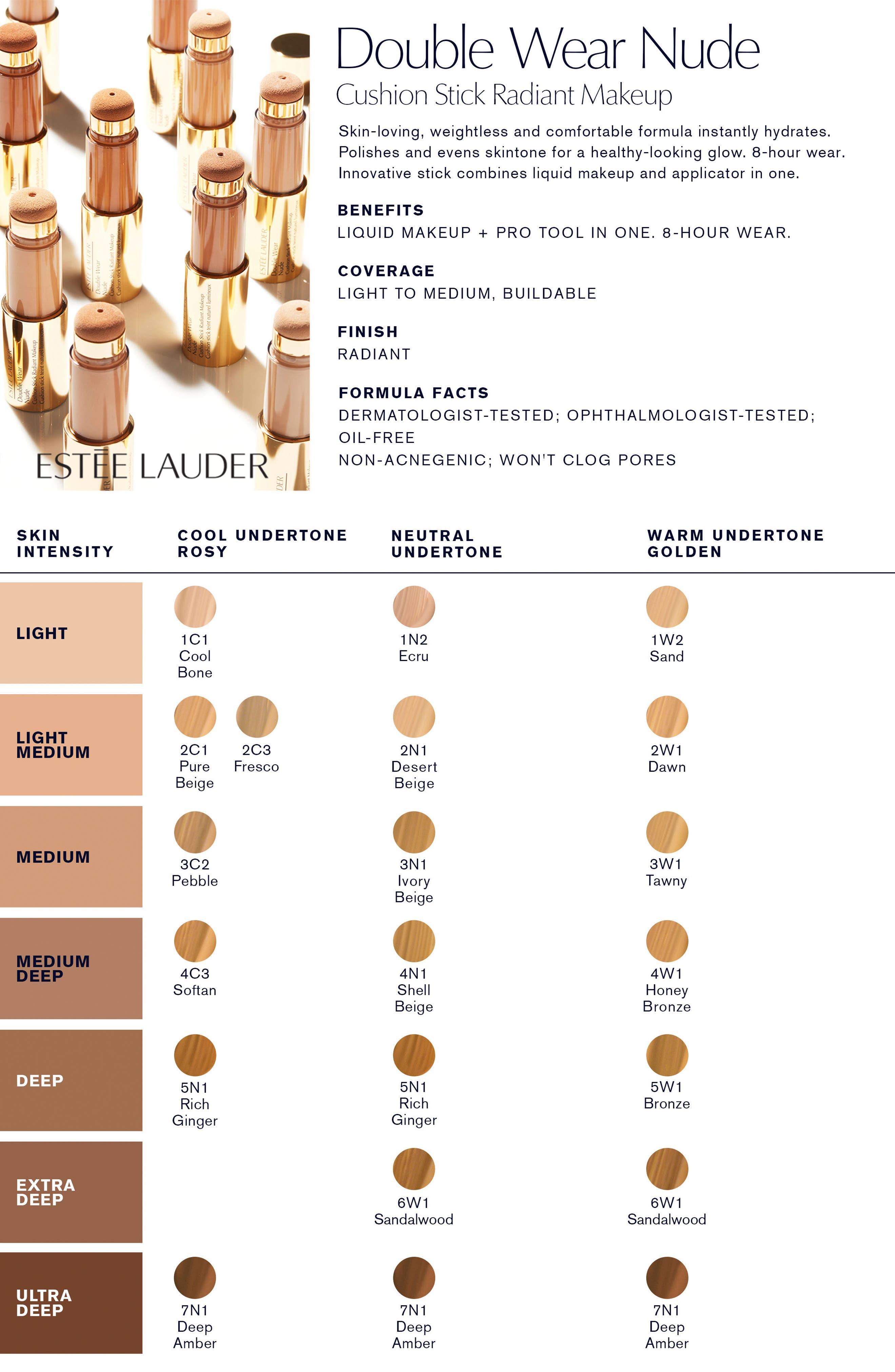 Alternate Image 2  - Estée Lauder Double Wear Nude Cushion Stick Radiant Makeup