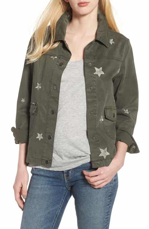 Dear John Denim Embroidered Stars Jacket