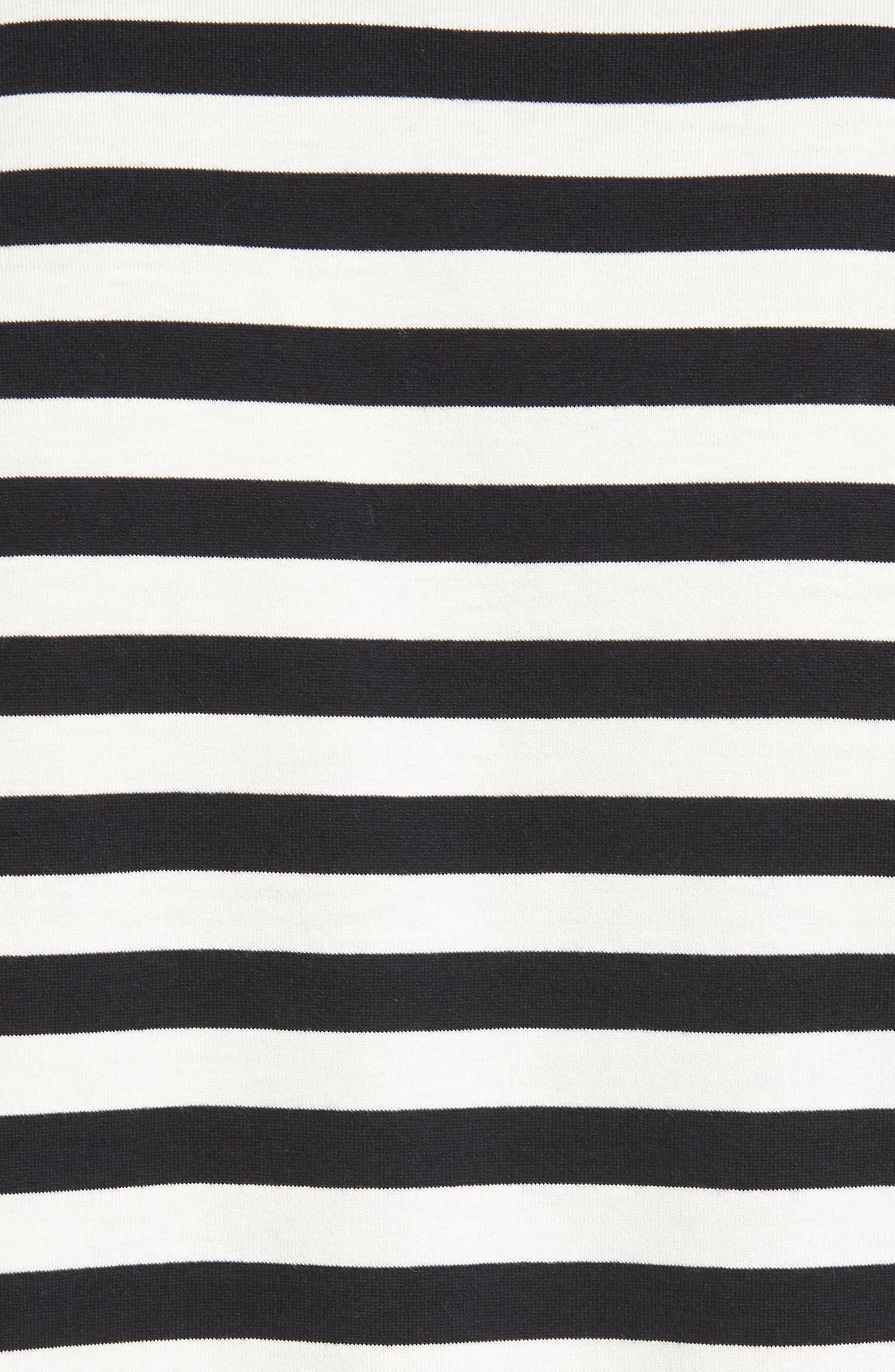 Slim Fit Stripe Tank,                             Alternate thumbnail 5, color,                             New Coastal/ Leche